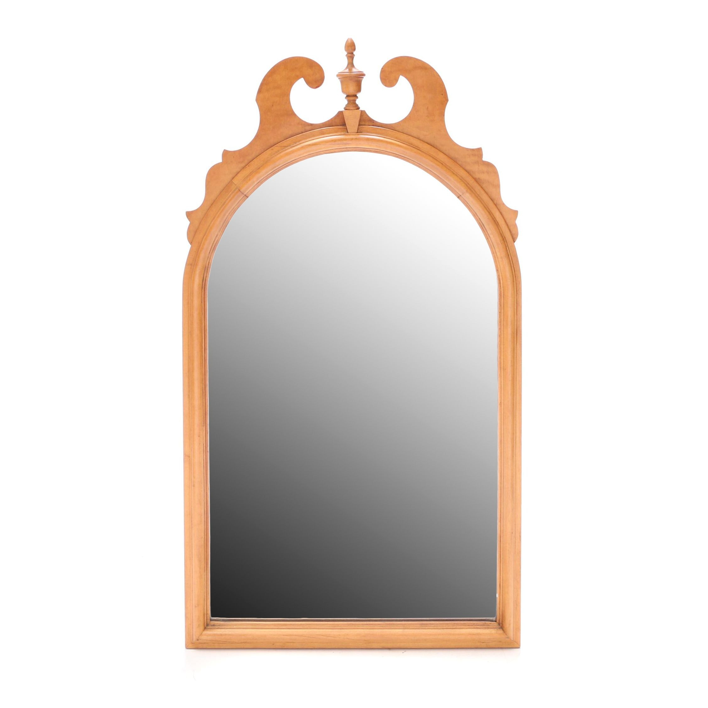 Federal Style Maple Framed Wall Mirror