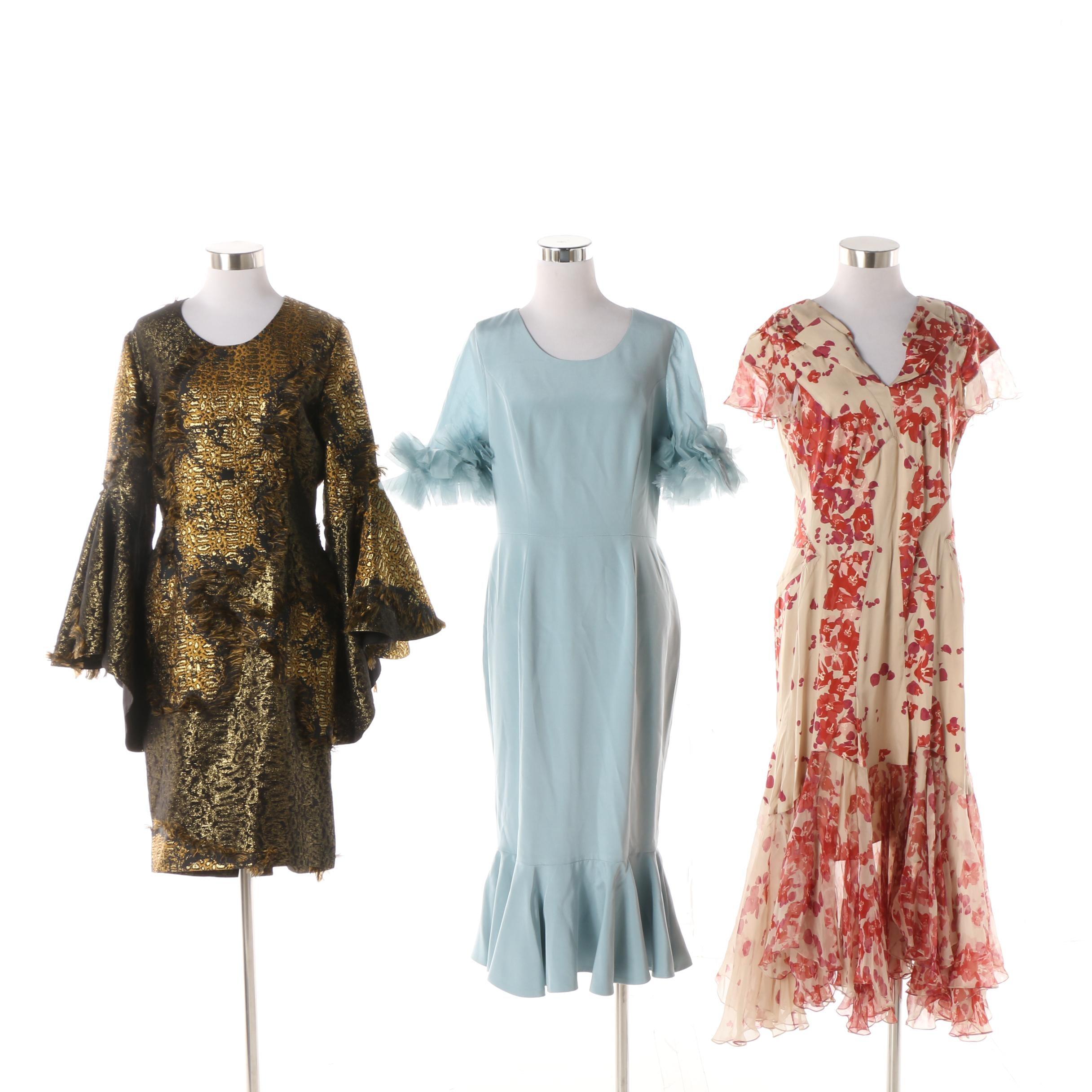 Christian Siriano and Zac Posen Occasion Dresses