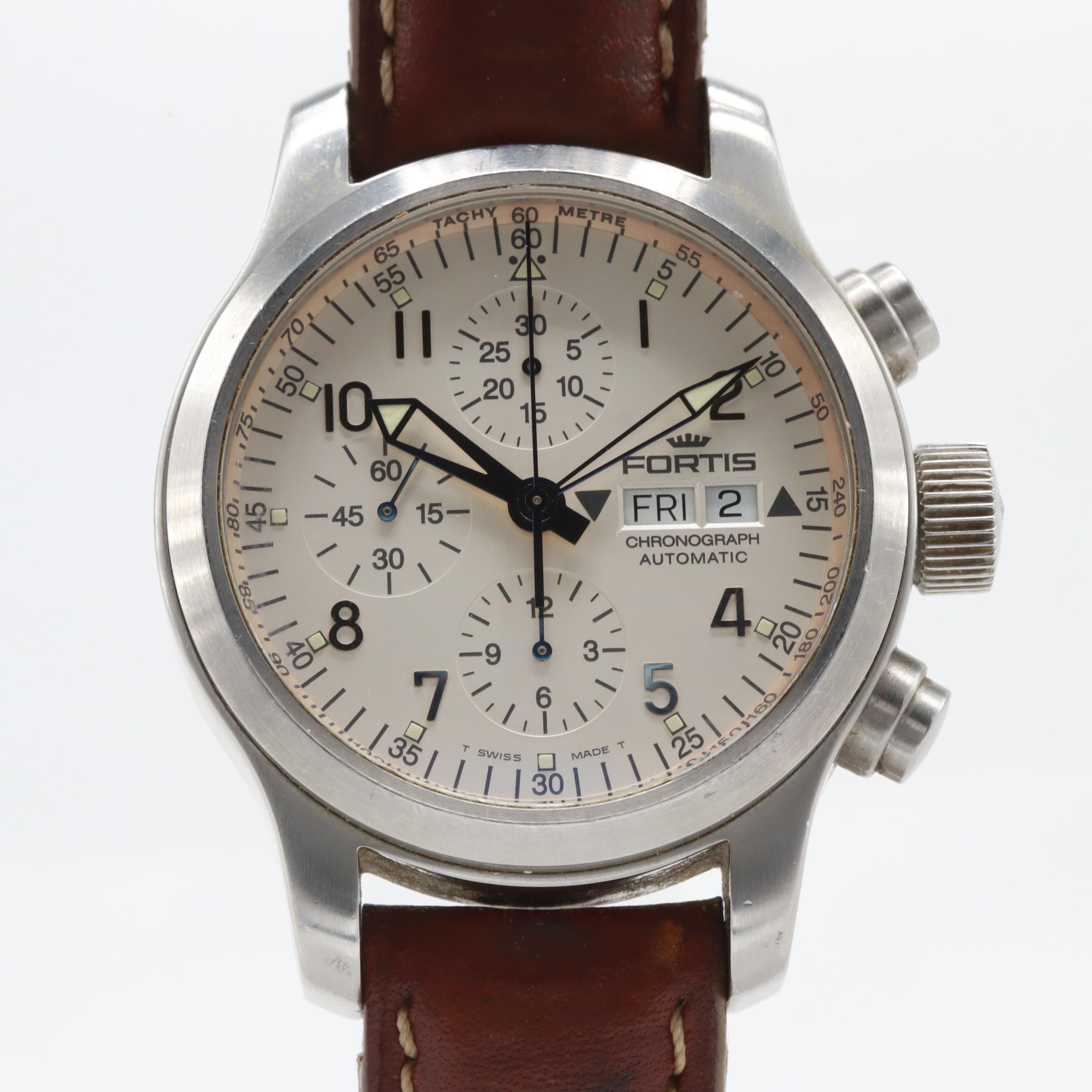 Fortis B-42 Flieger Automatic Chronograph Wristwatch