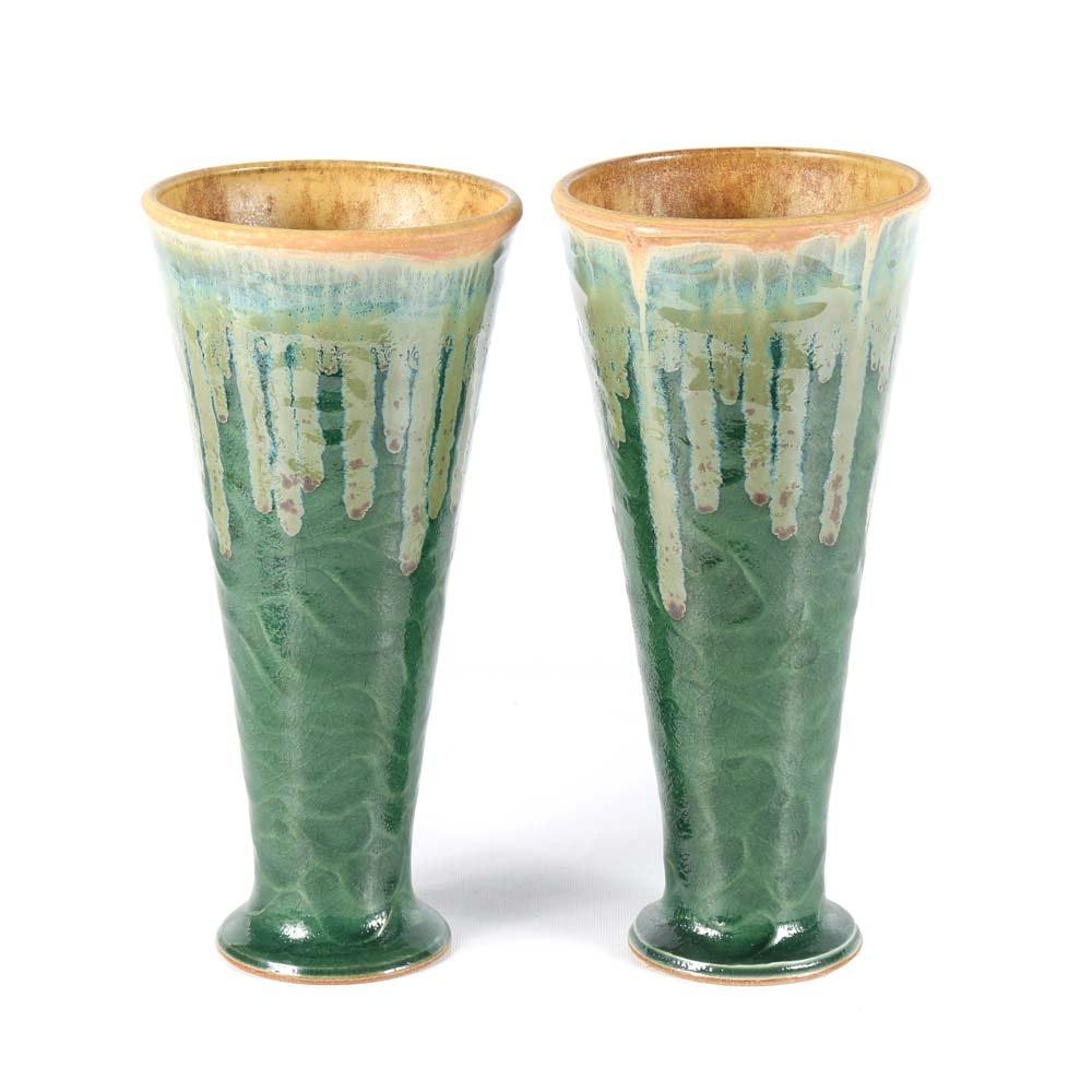 Allan Ditton Wheel Thrown Stoneware Vases