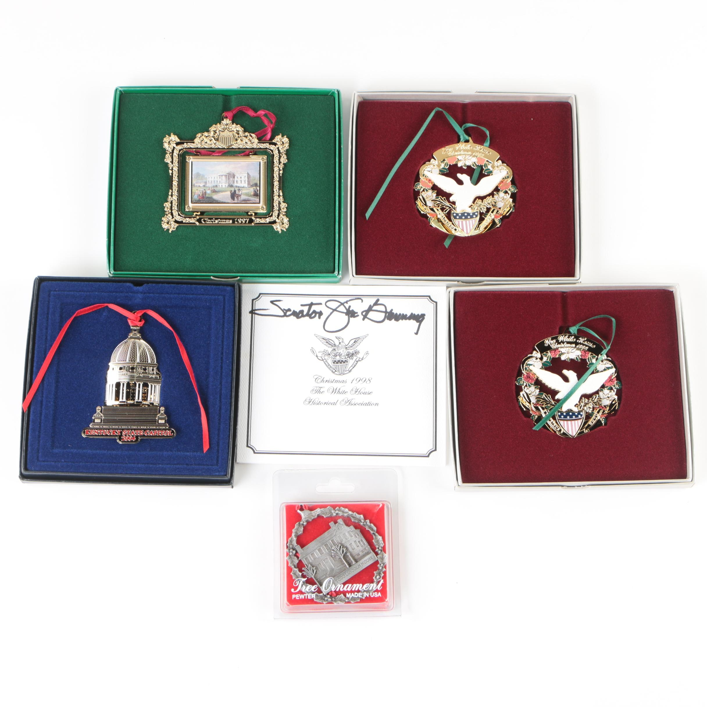 White House Historical Association Christmas Ornaments and More