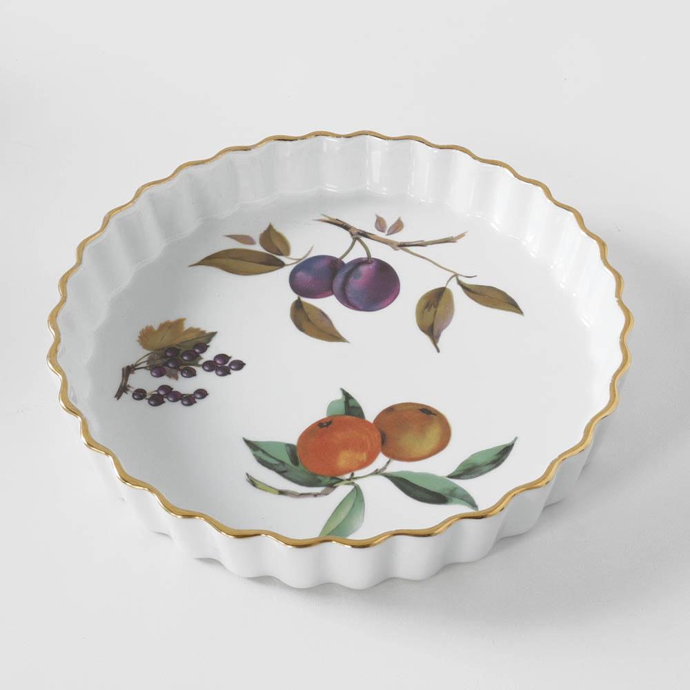 "Royal Worcester ""Evesham""  Quiche or Tart Dish"