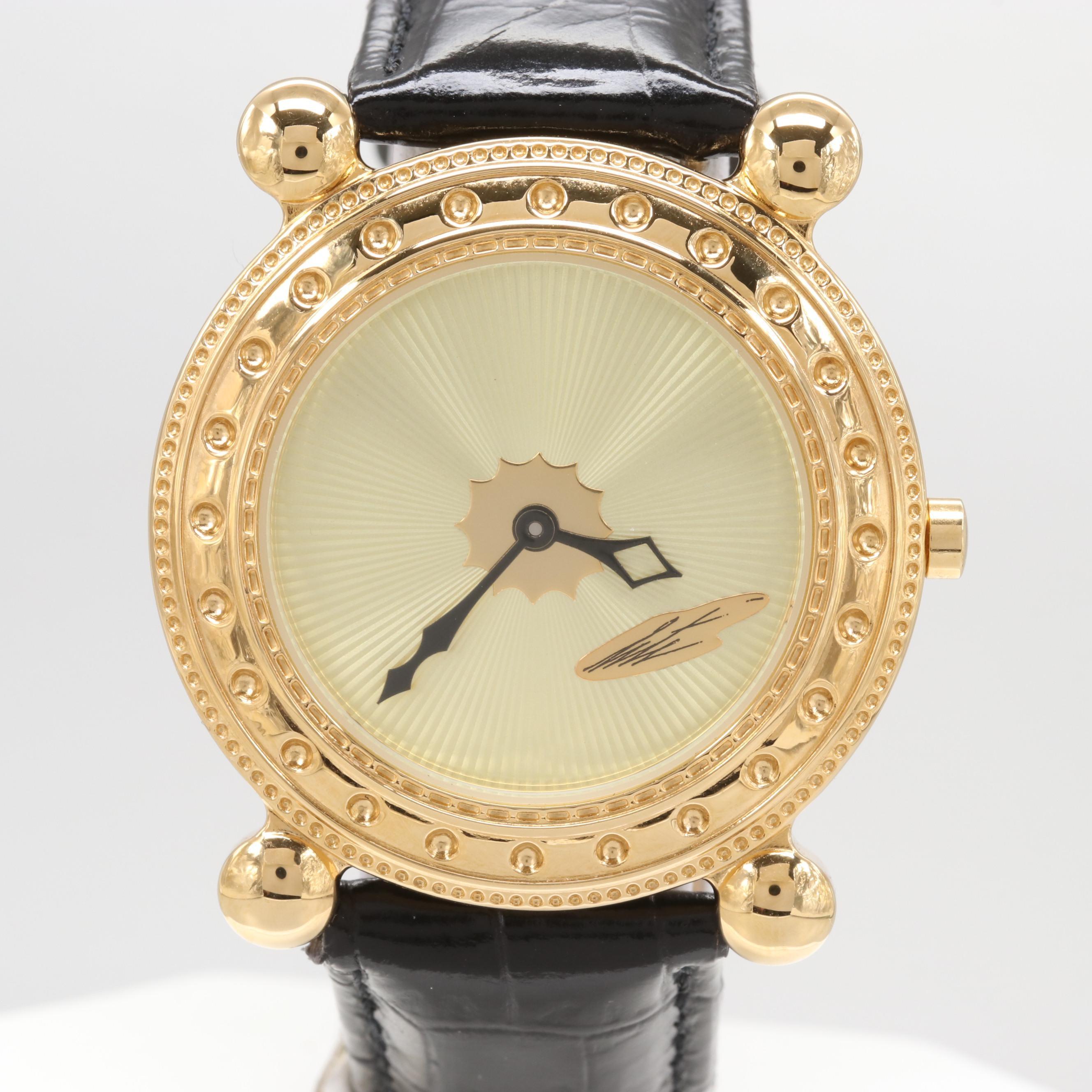 """Sevenarts Ltd. """"Erté"""" Wristwatch"""