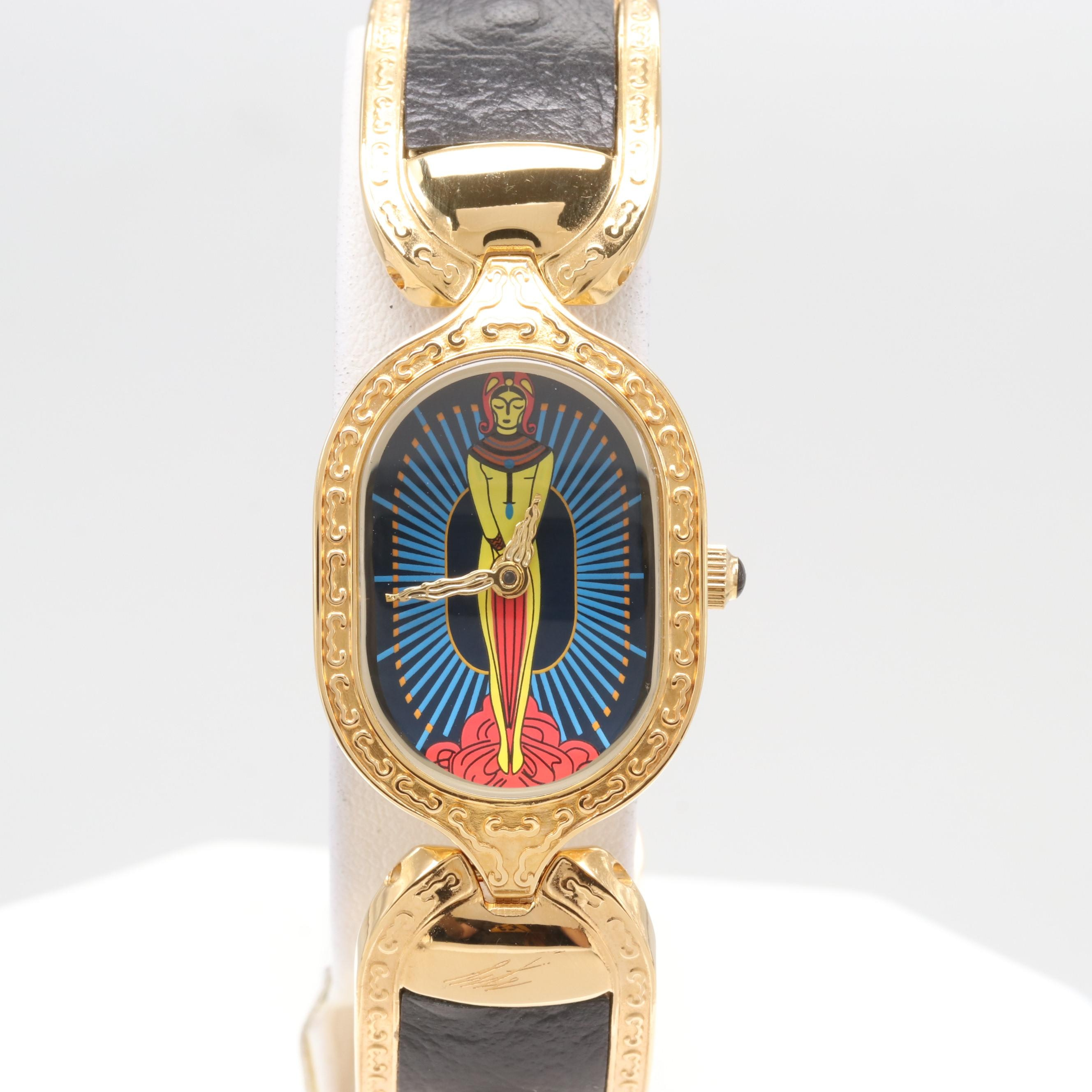 "Sevenarts LTD. ""Erté"" Wristwatch"