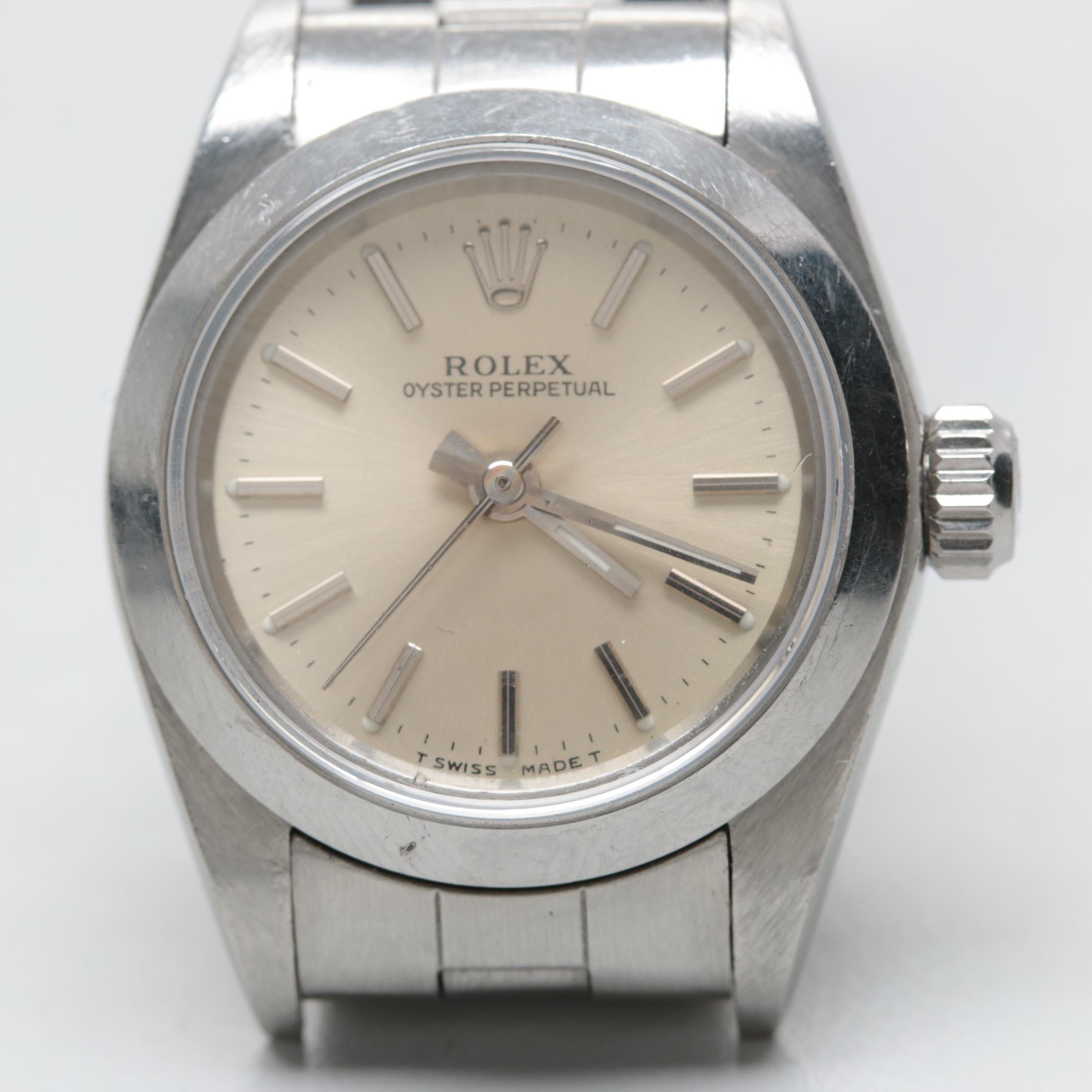 Rolex Oyster Perpetual Automatic Wristwatch 1995