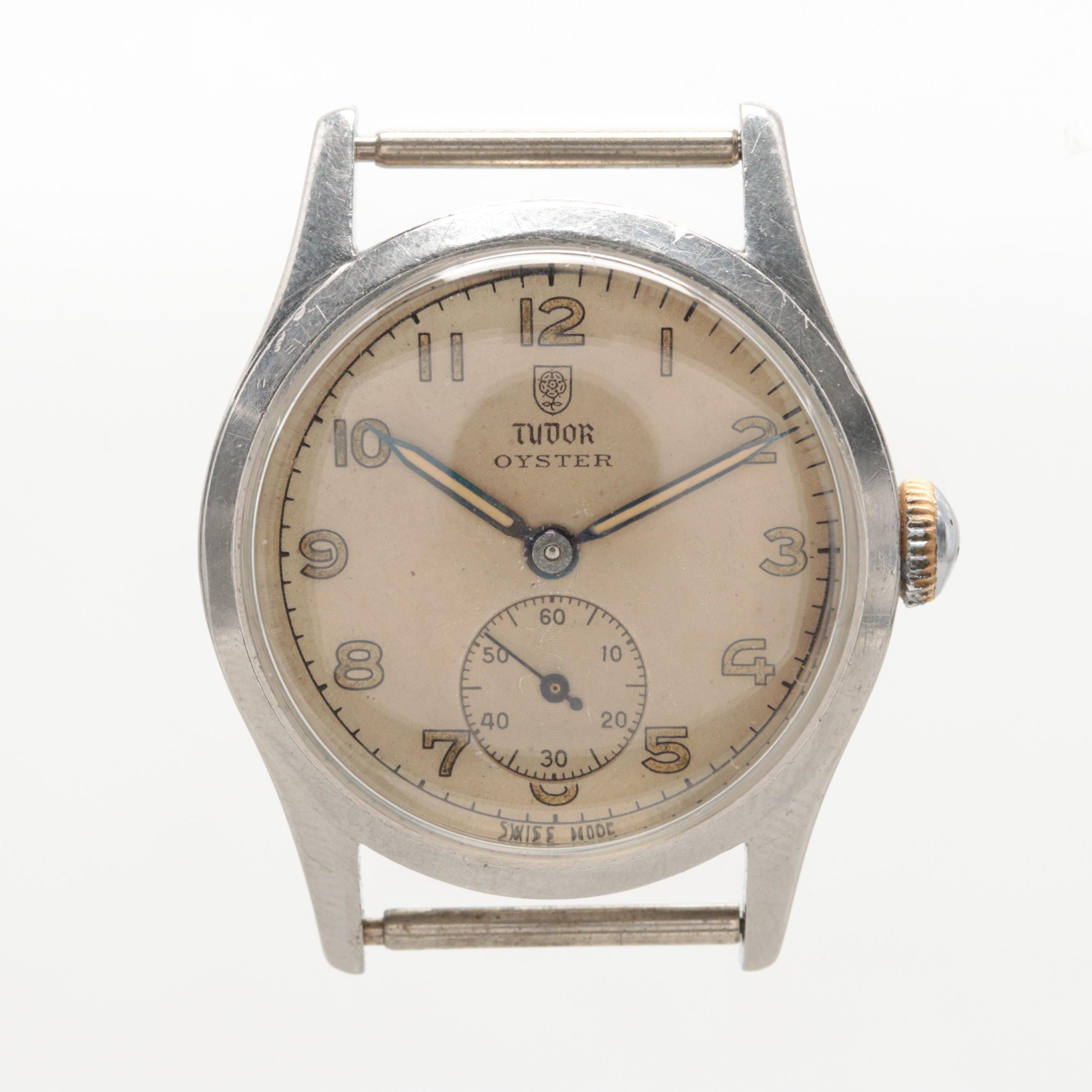 Tudor Oyster Stainless Steel Wristwatch