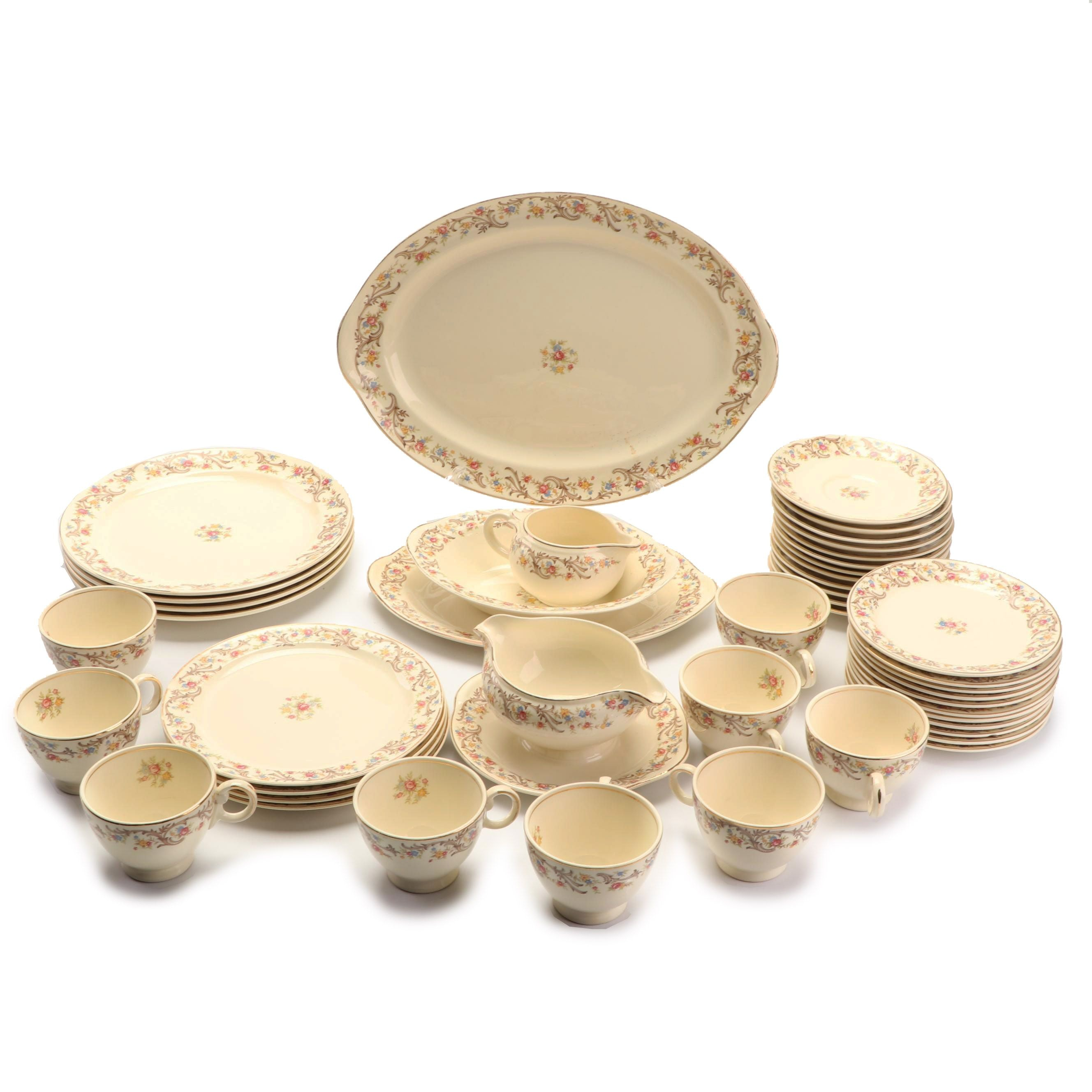 Vintage Taylor, Smith & Taylor Ceramic Dinnerware