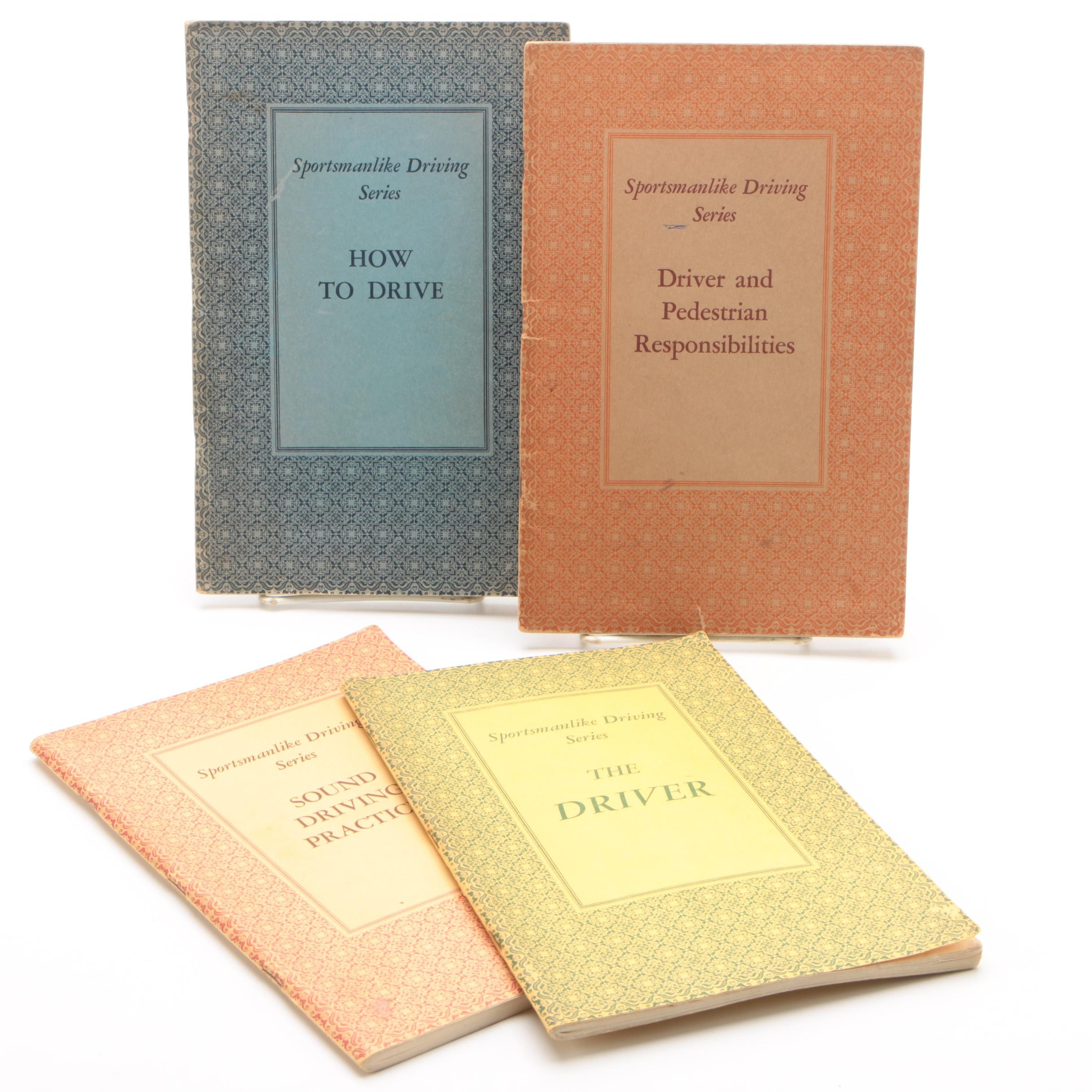 """1930s Illustrated """"Sportsmanlike Driving Series"""" Booklets"""