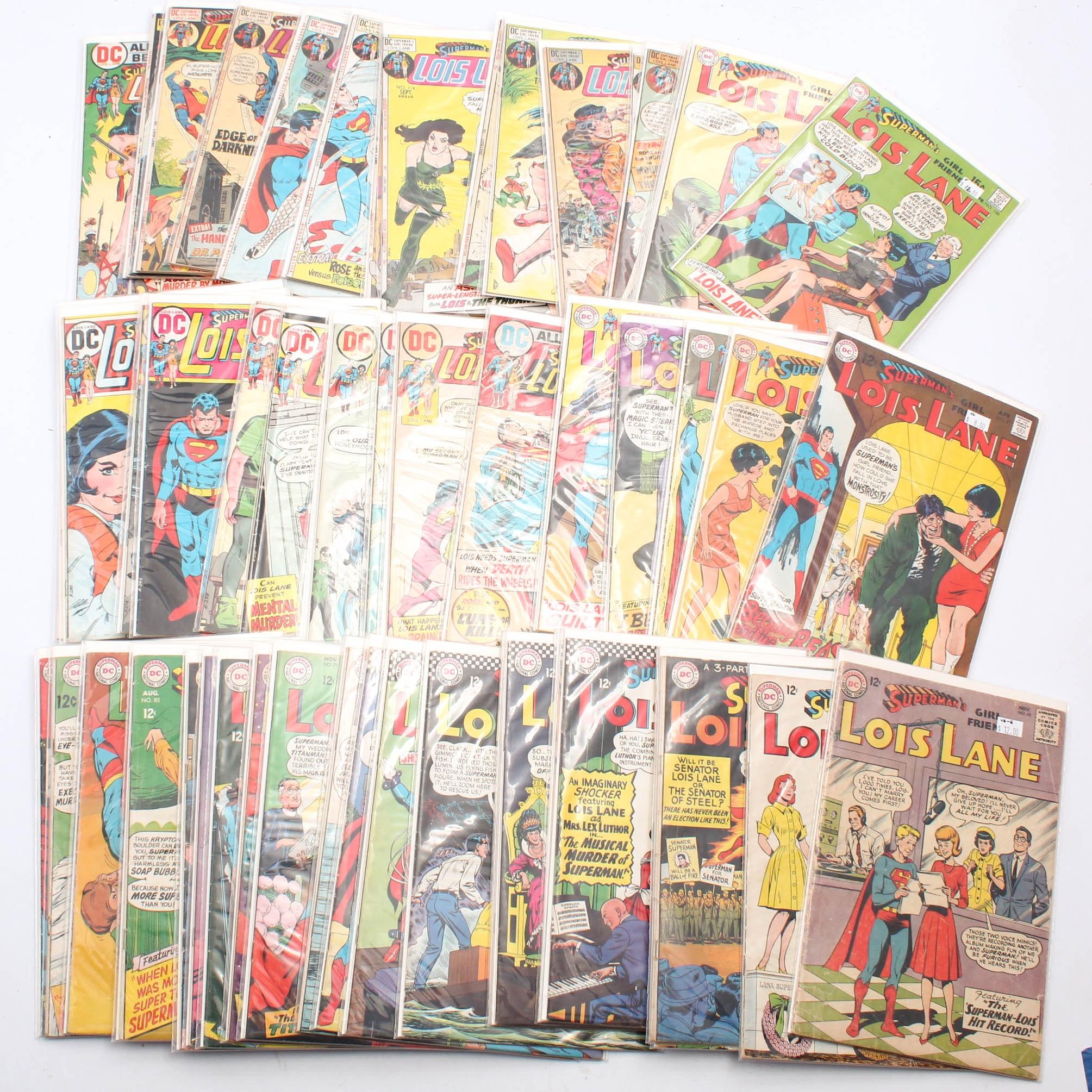 """Silver Age DC Comics """"Superman's Girlfriend: Lois Lane"""""""