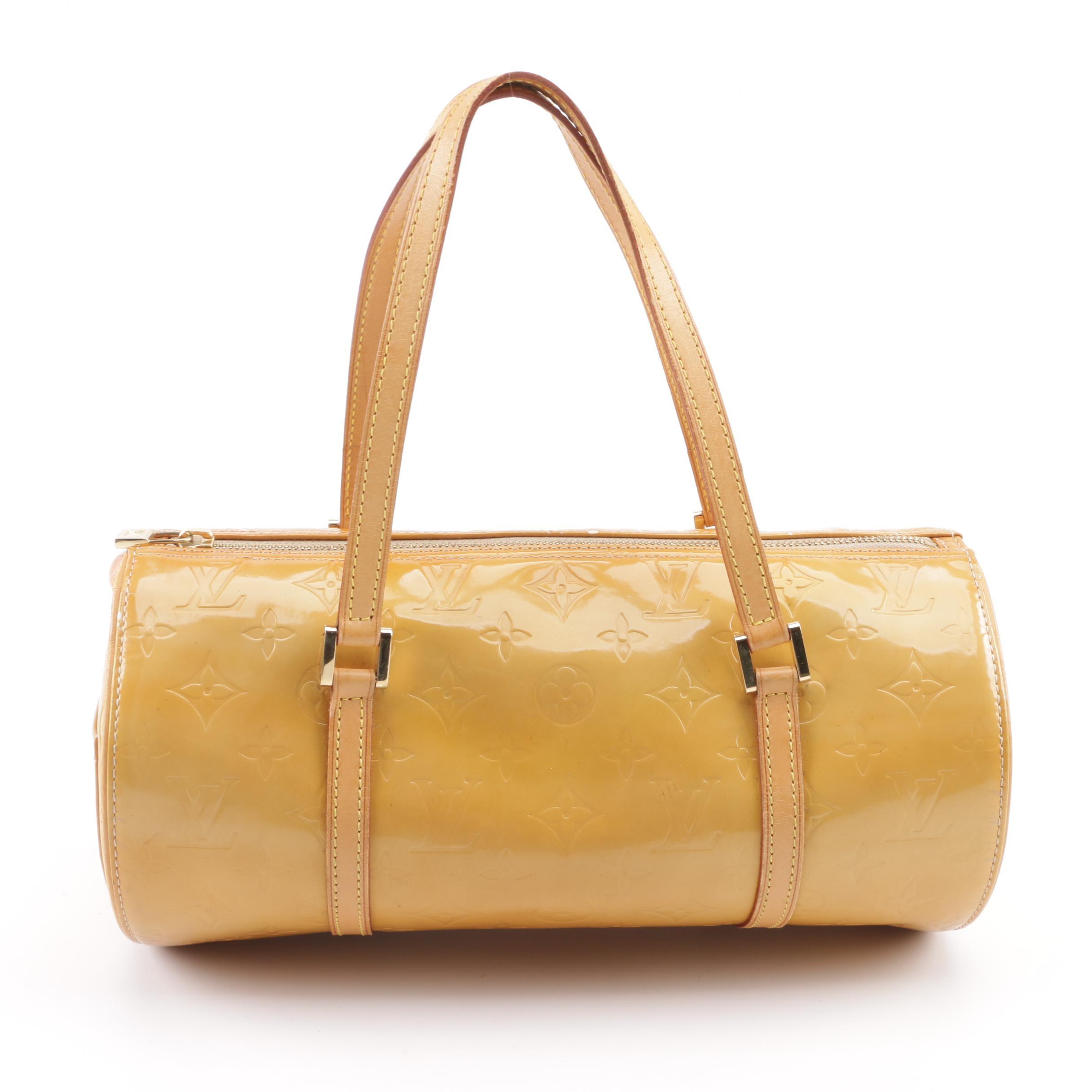 1999 Louis Vuitton of Paris Mango Vernis Monogram Papillon 30 Handbag