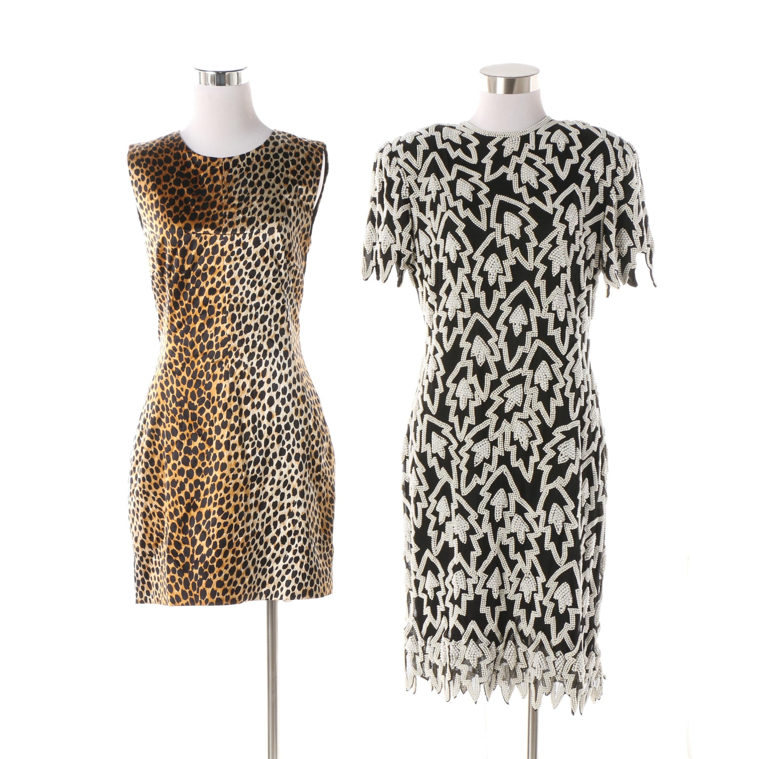 Vintage Dolce & Gabbana and Neiman Marcus Dresses