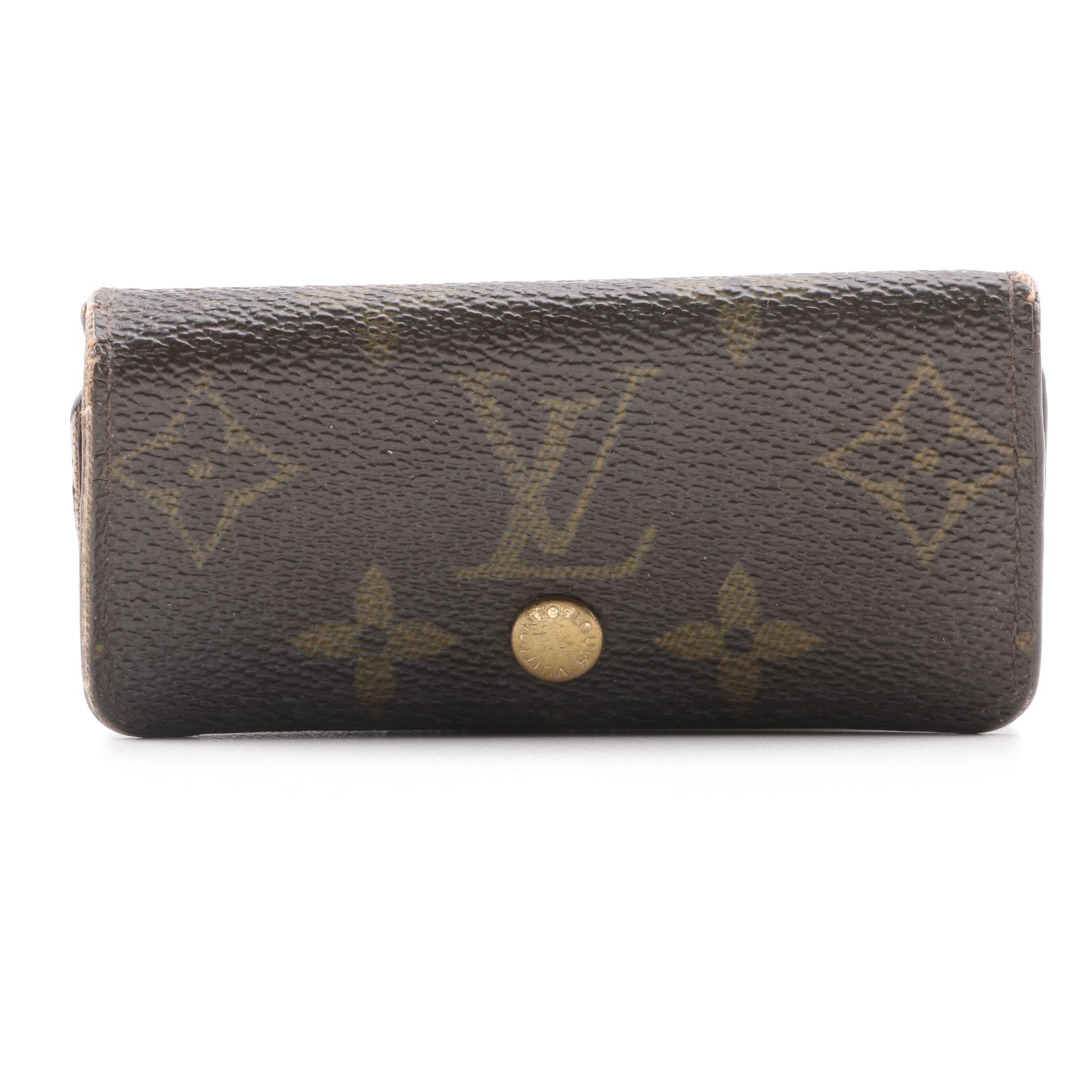 2006 Louis Vuitton Monogram Canvas 4 Key Holder