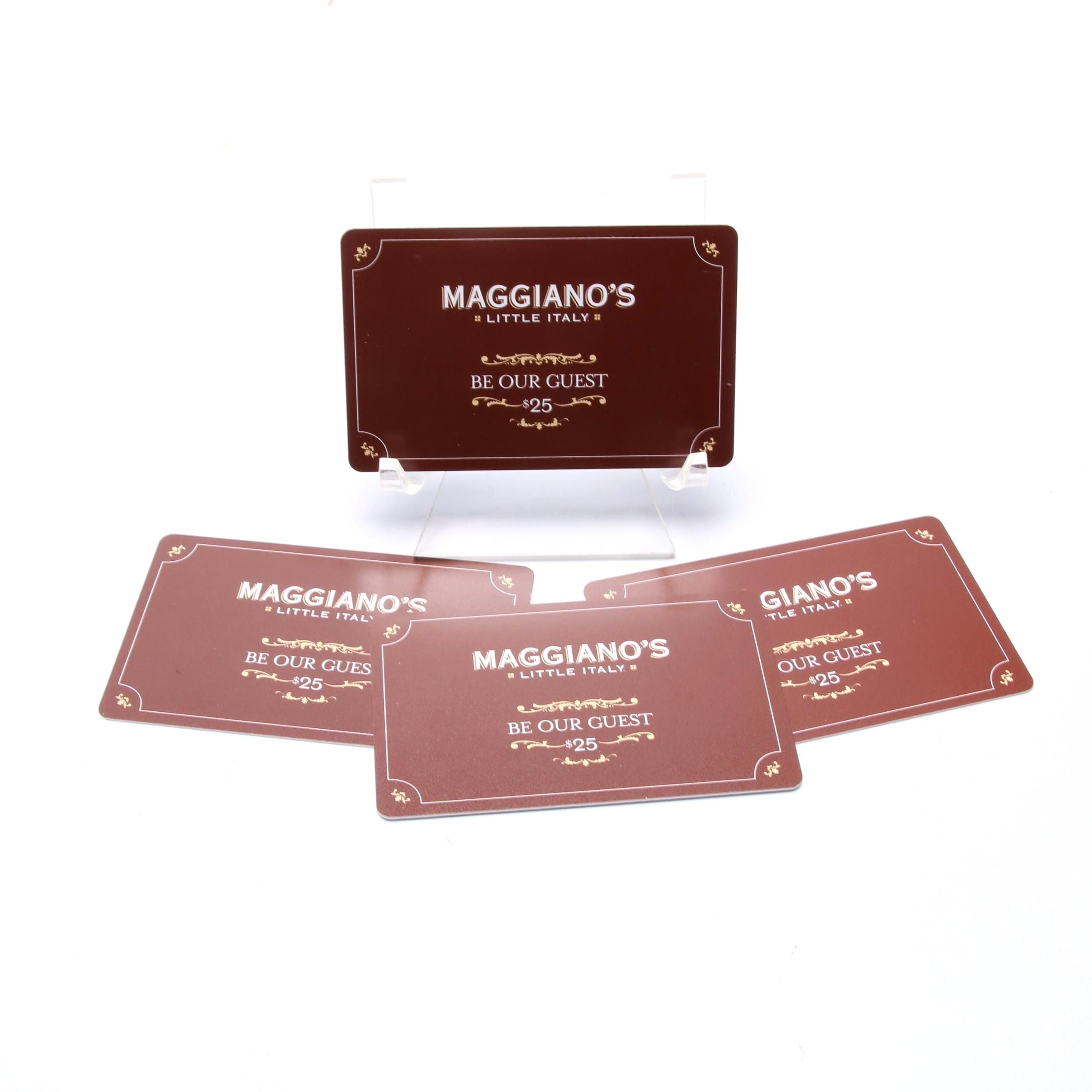Four Maggiano's Little Italy Gift Cards