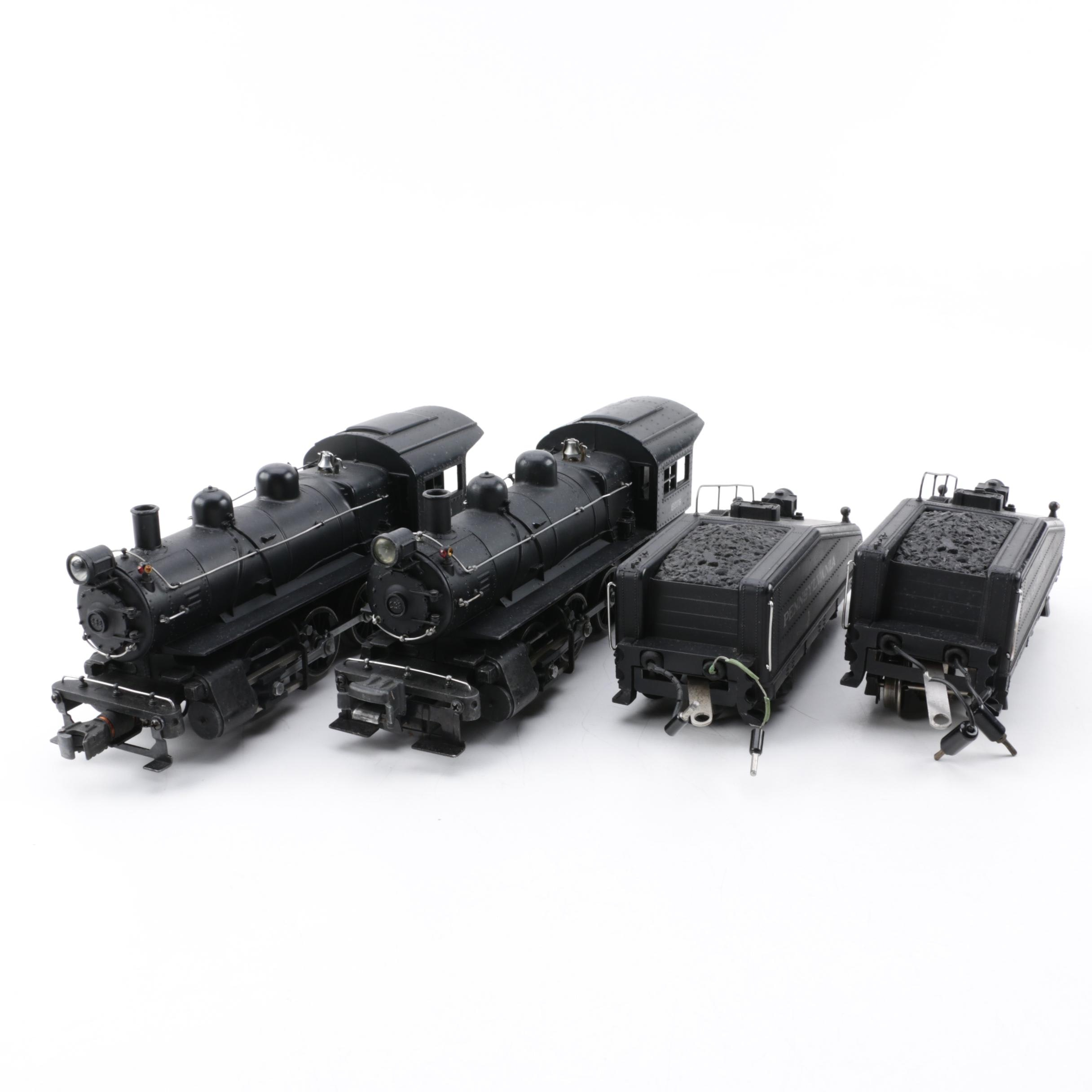 Lionel Pre-War Pennsylvania B-6 Switchers with Tenders