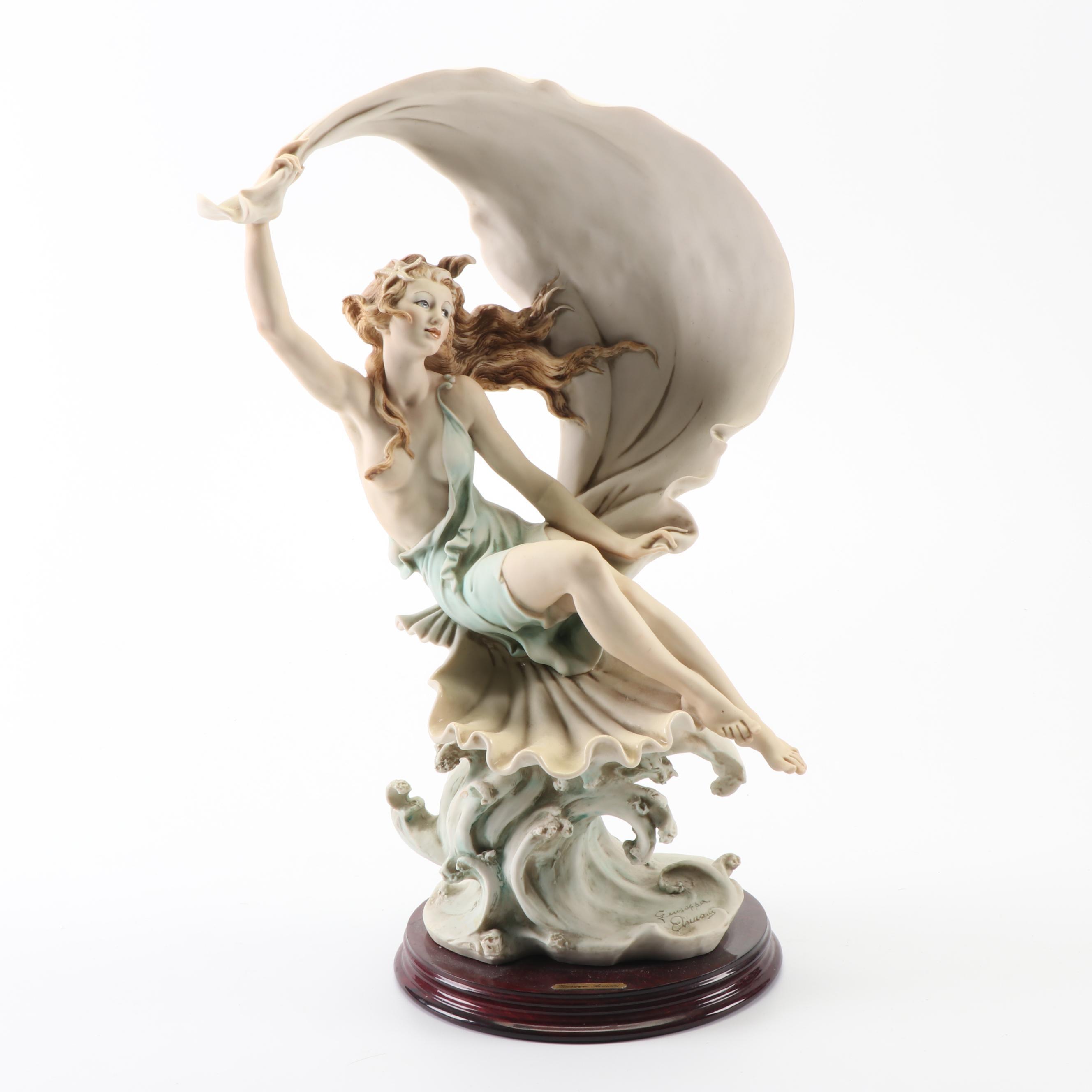 "Giuseppe Armani ""Wind Song"" Porcelain Sculpture, 1990s"