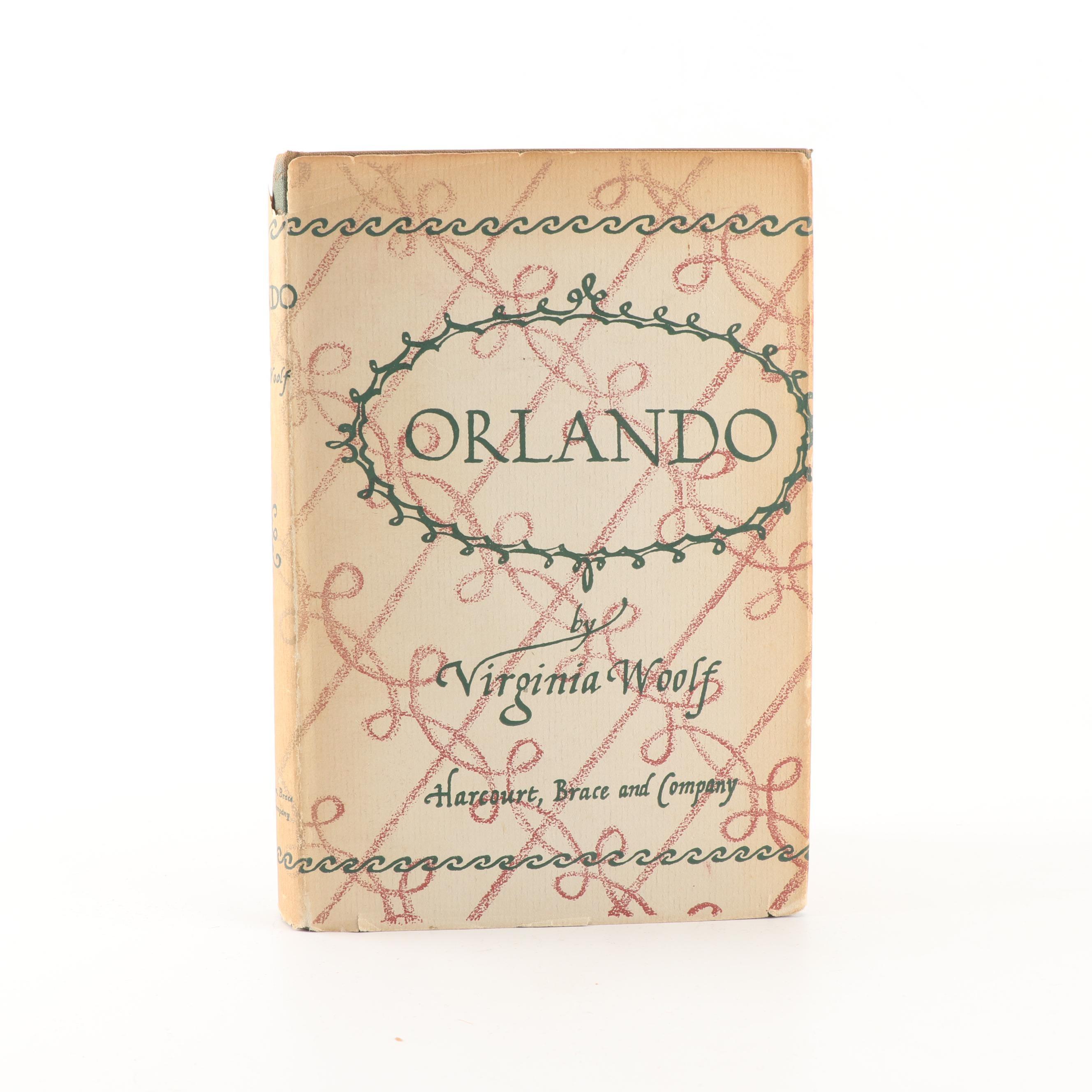 WOOLF, Virginia (1882-1941), Orlando, New York, 1928
