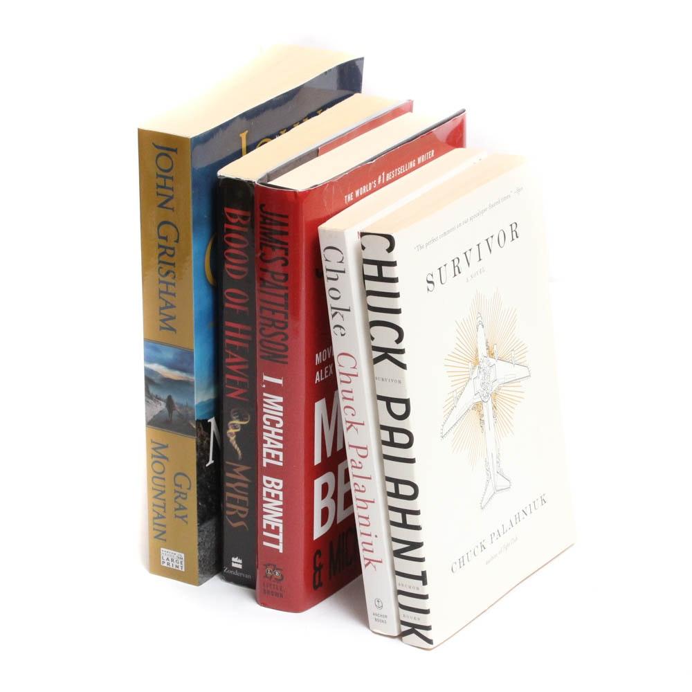 Contemporary Literature Featuring John Grisham, James Patterson & More