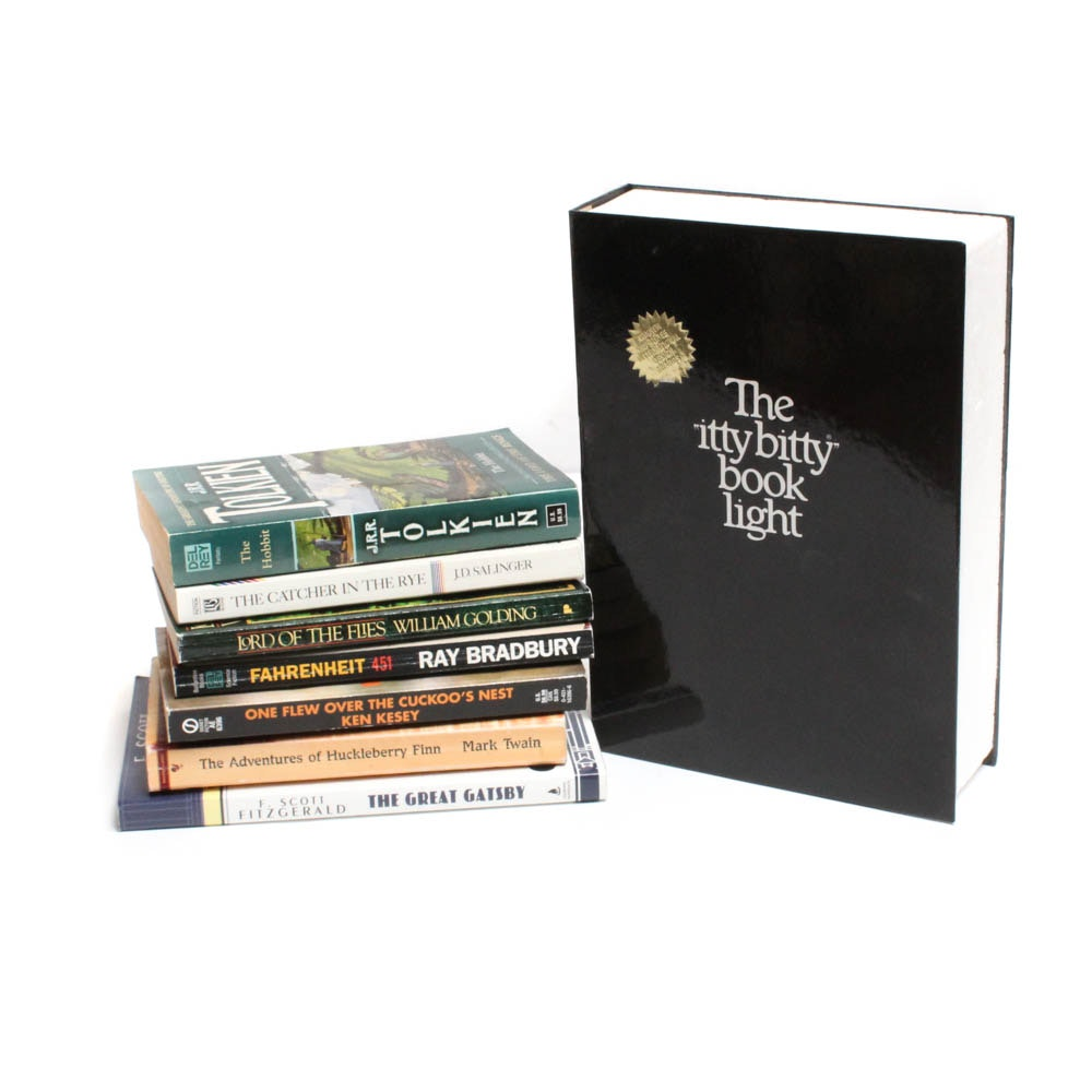 Classic Novels Featuring J.R.R. Tolkien, Mark Twain, F. Scott Fitzgerald & More