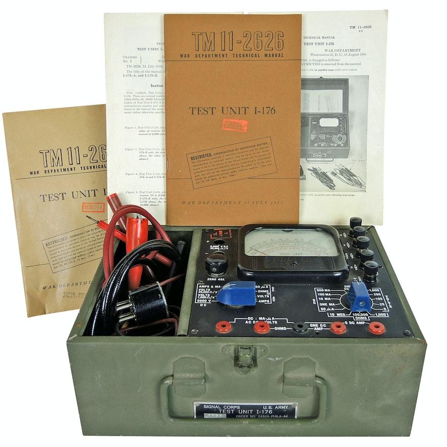 World War II U.S. Army Signal Corps Test Unit I-176