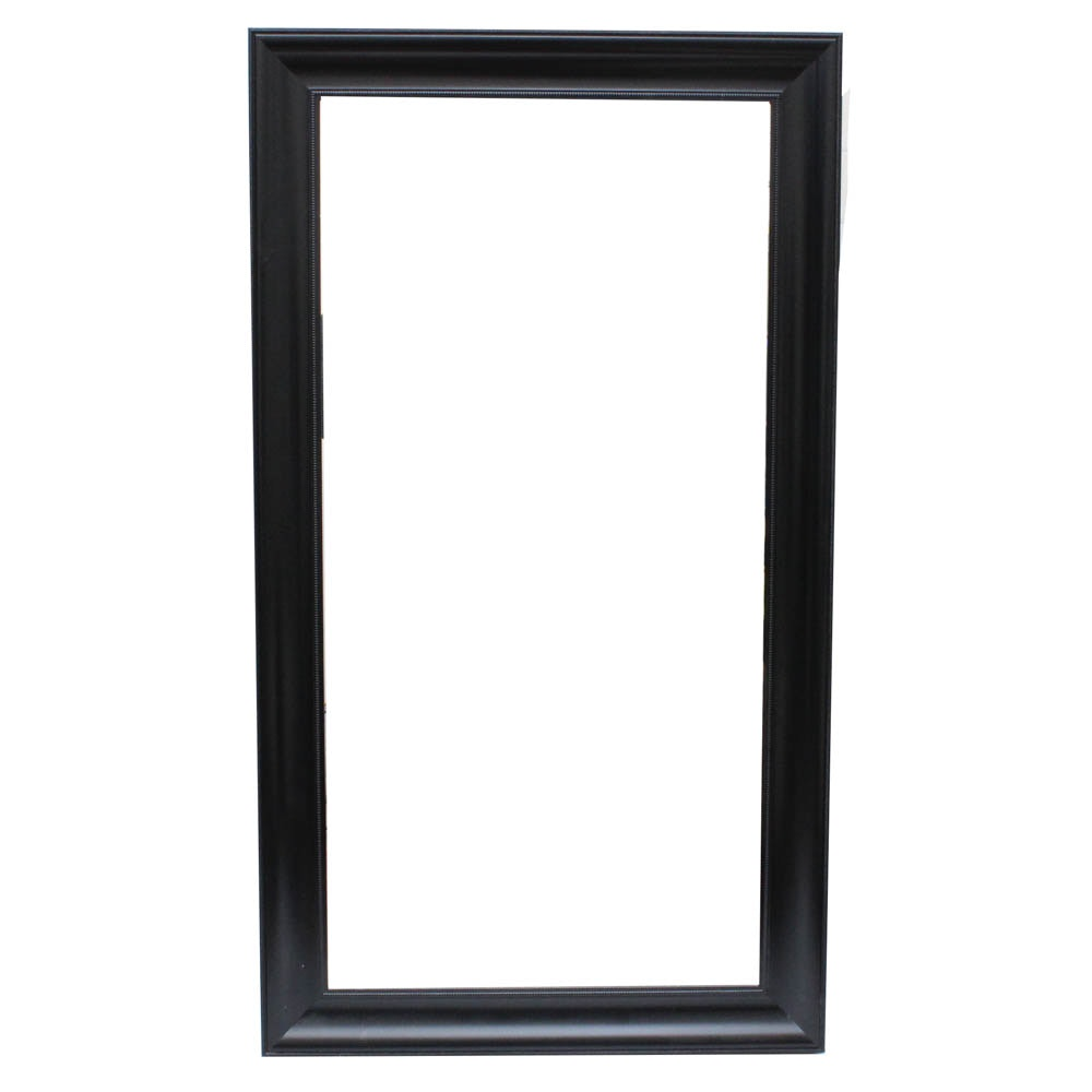 Large Scale Wood Framed Wall Mirror