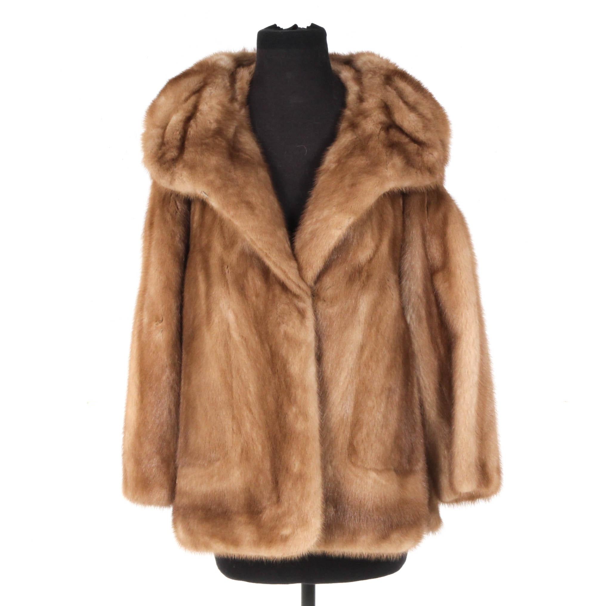 Vintage EMBA Mink Fur Coat
