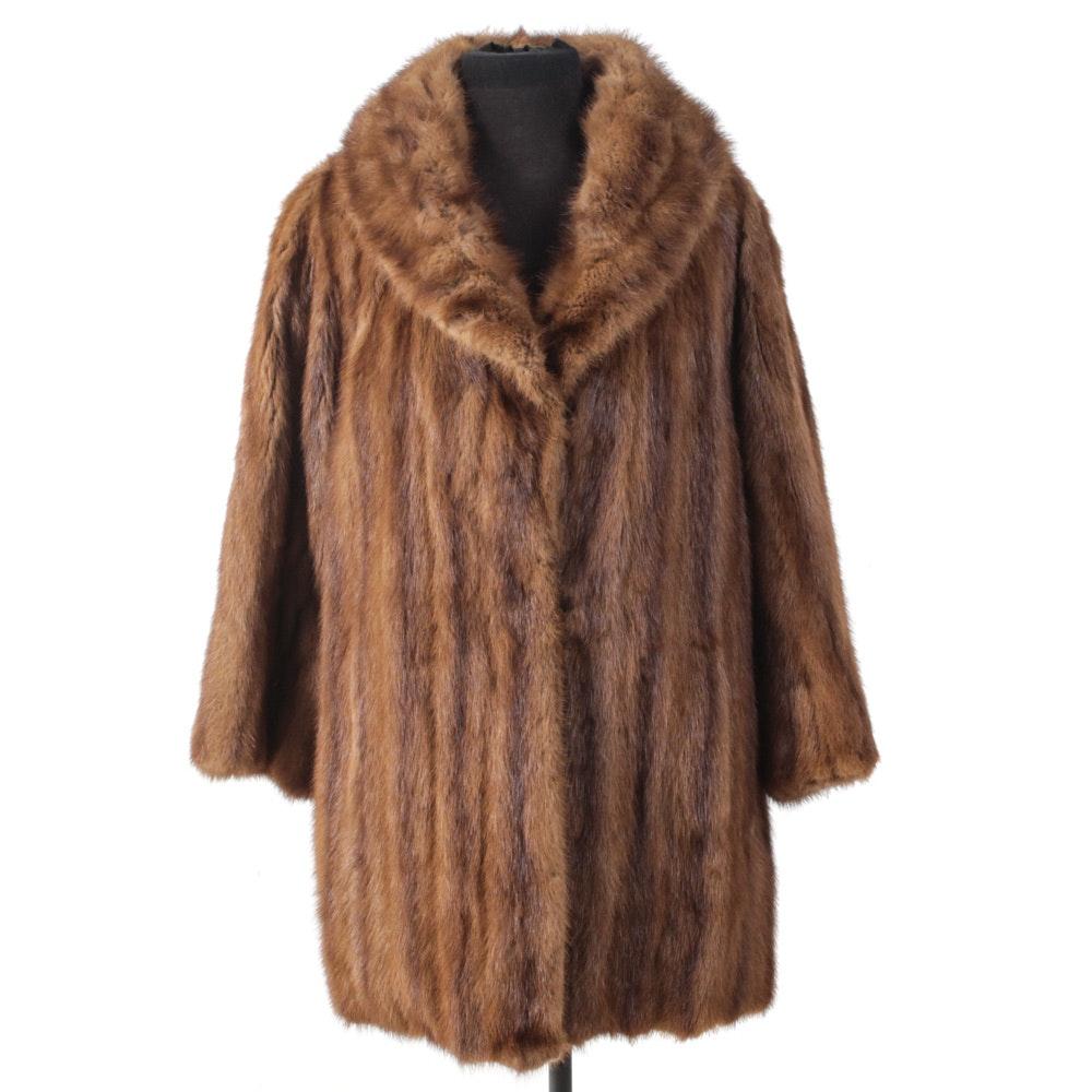 Mink Fur Coat by Montaldo's