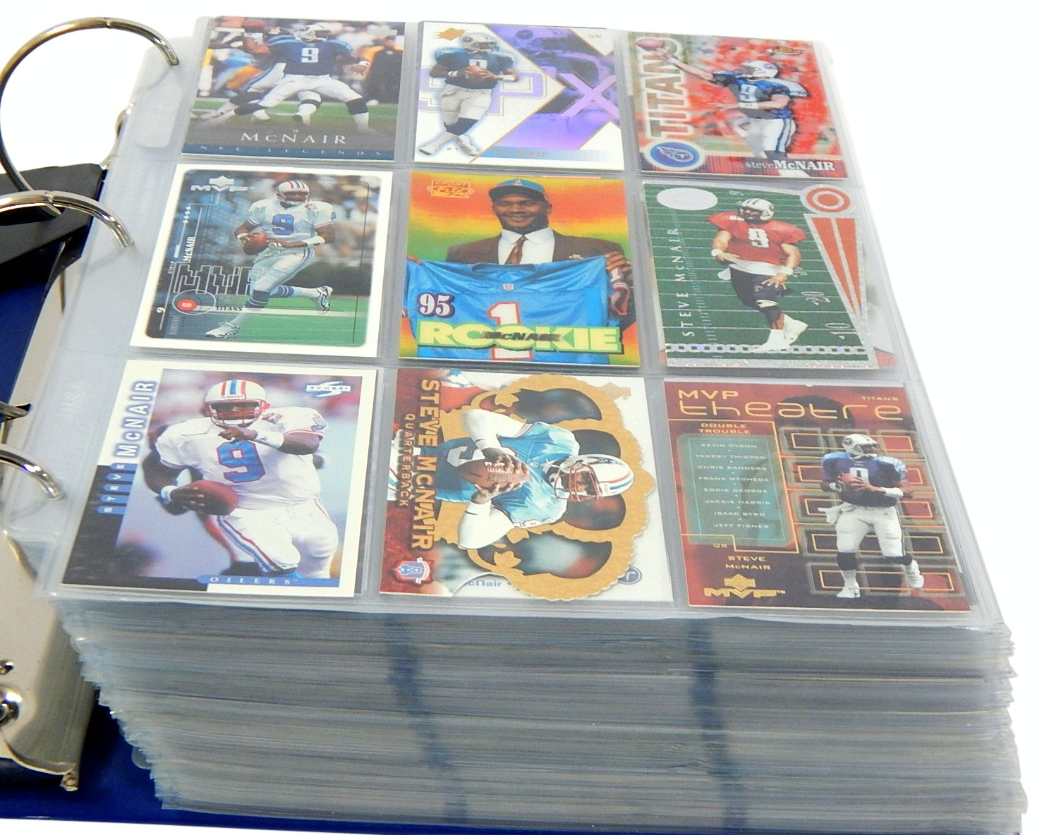 Large Album of Football Cards with Rookies, Stars, Etc. - Around 1000 Card Count