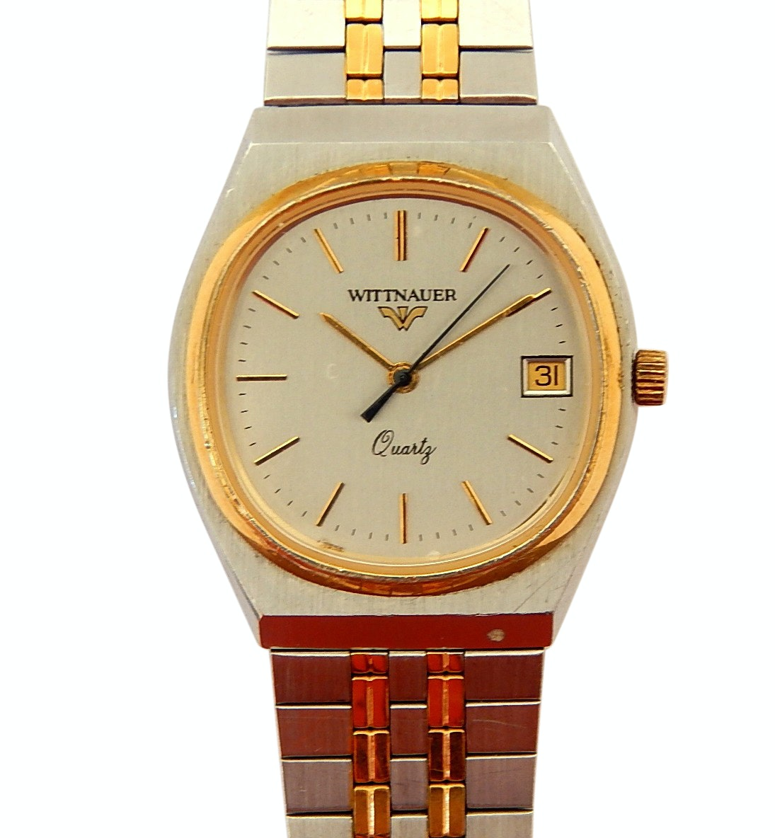 Two Tone Wittnauer Quartz Wristwatch - Repair