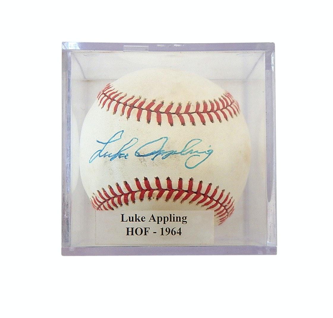 HOF Luke Appling Signed Bobby Brown Baseball