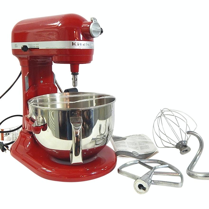 Red 6 Qt. KitchenAid Mixer - Refurbished Model RKP26M1XER W71104394  Qt Kitchenaid Mixers On Sale on kitchenaid mixer, kitchenaid professional 6000 hd, kitchenaid professional 600 series hd, kitchenaid 4.5 quart glass bowl,