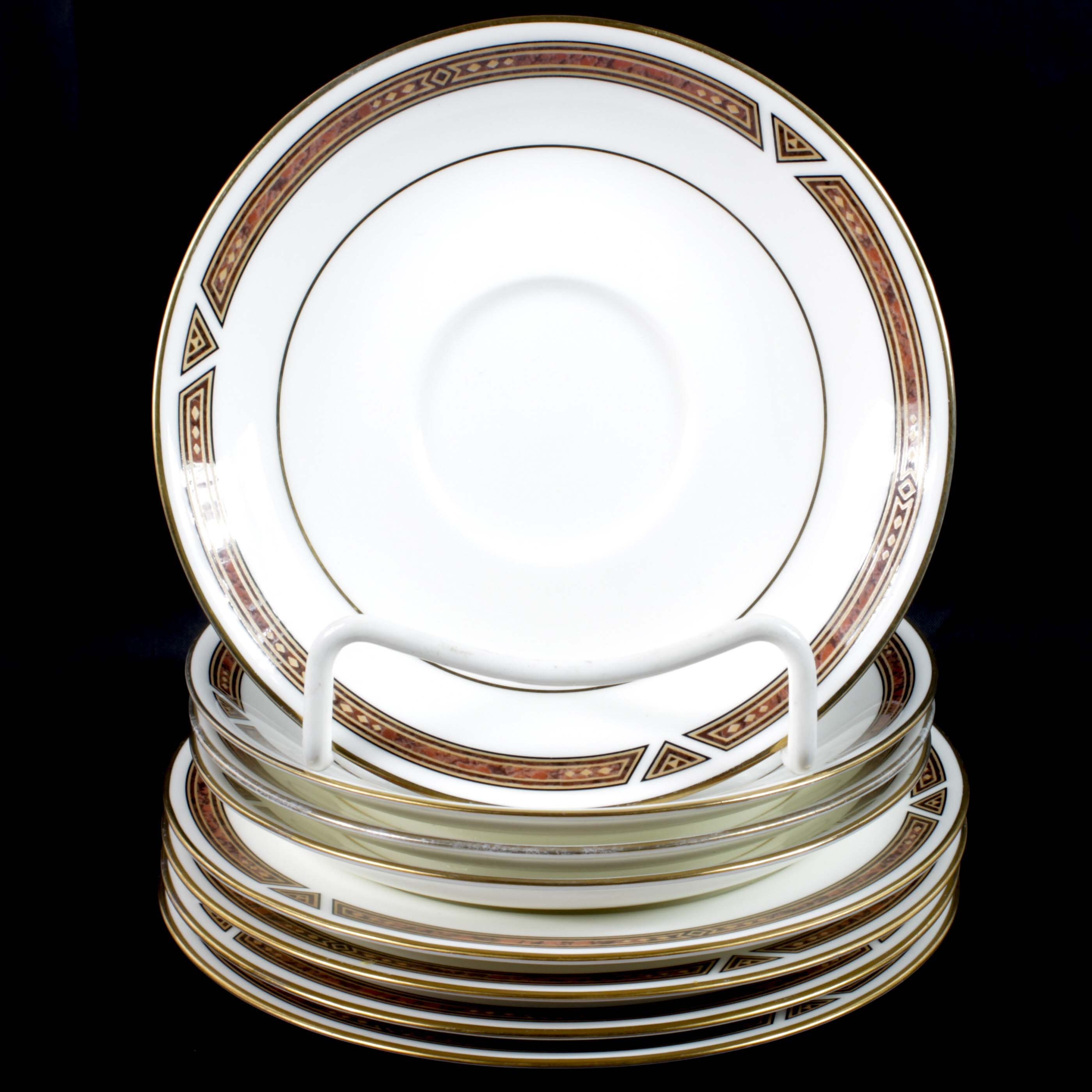 "Collection of Noritake ""Diamond Trace"" Porcelain Dinnerware"