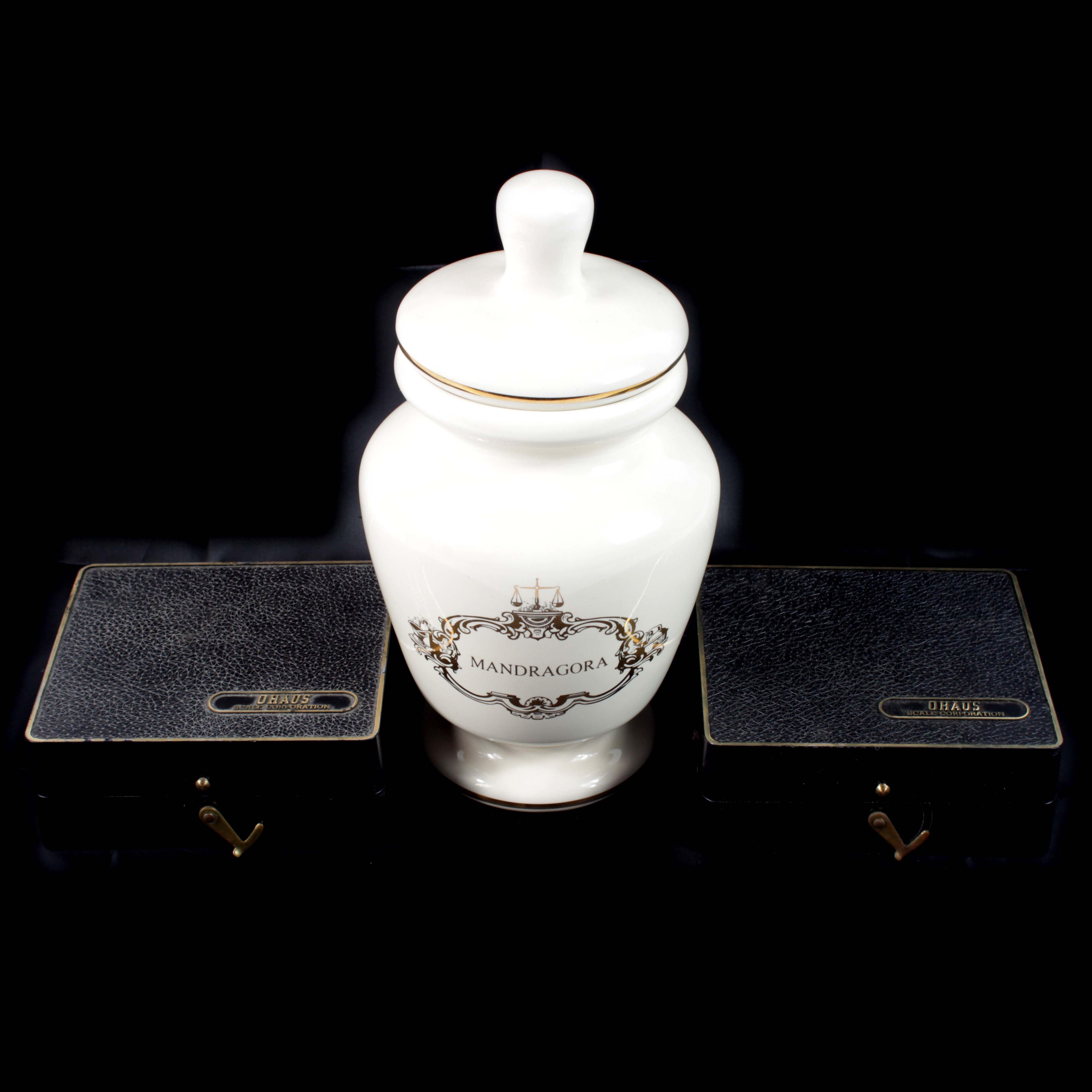 Collection of Pharmacy Memorabilia - 3pc