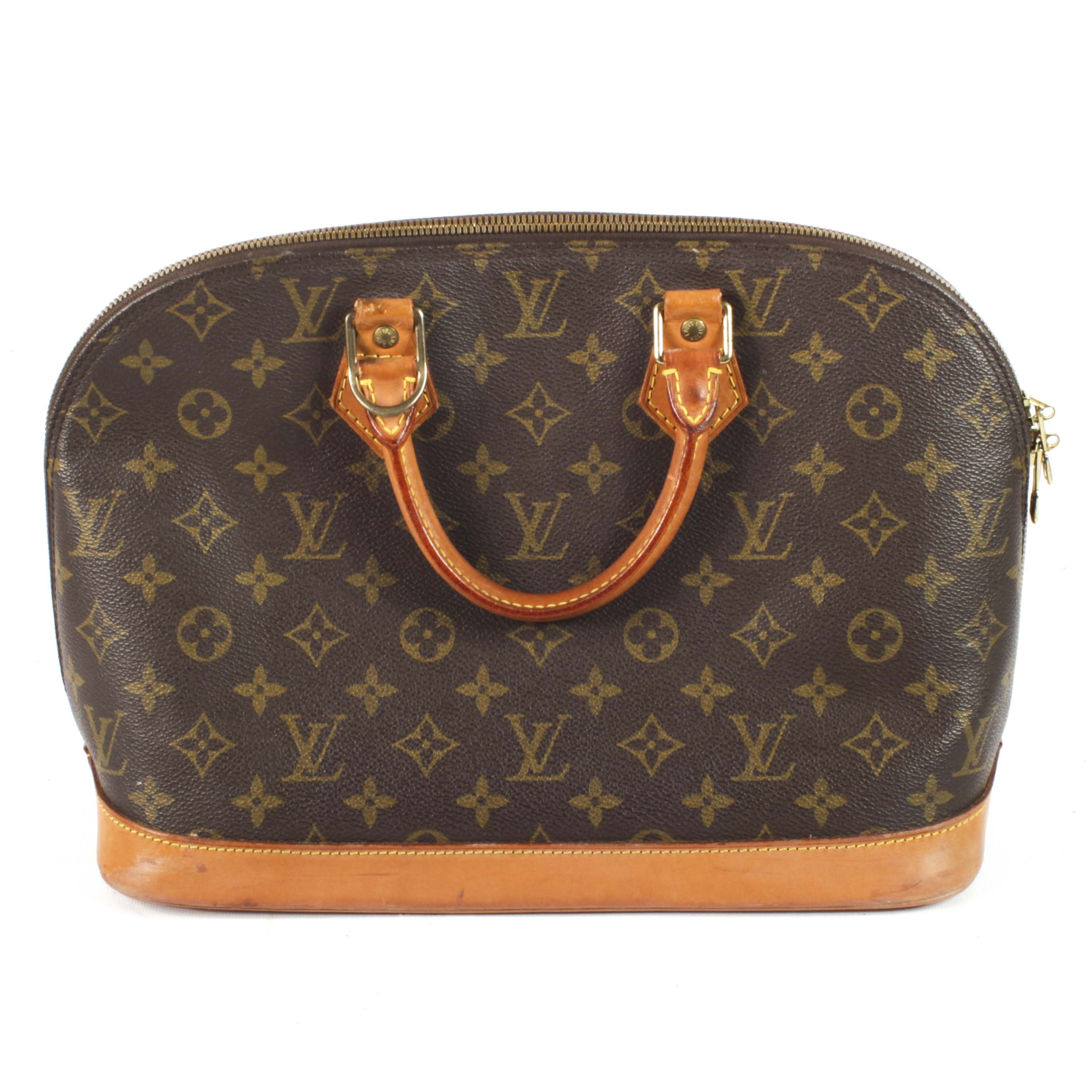 1997 Louis Vuitton Monogram Canvas Handbag