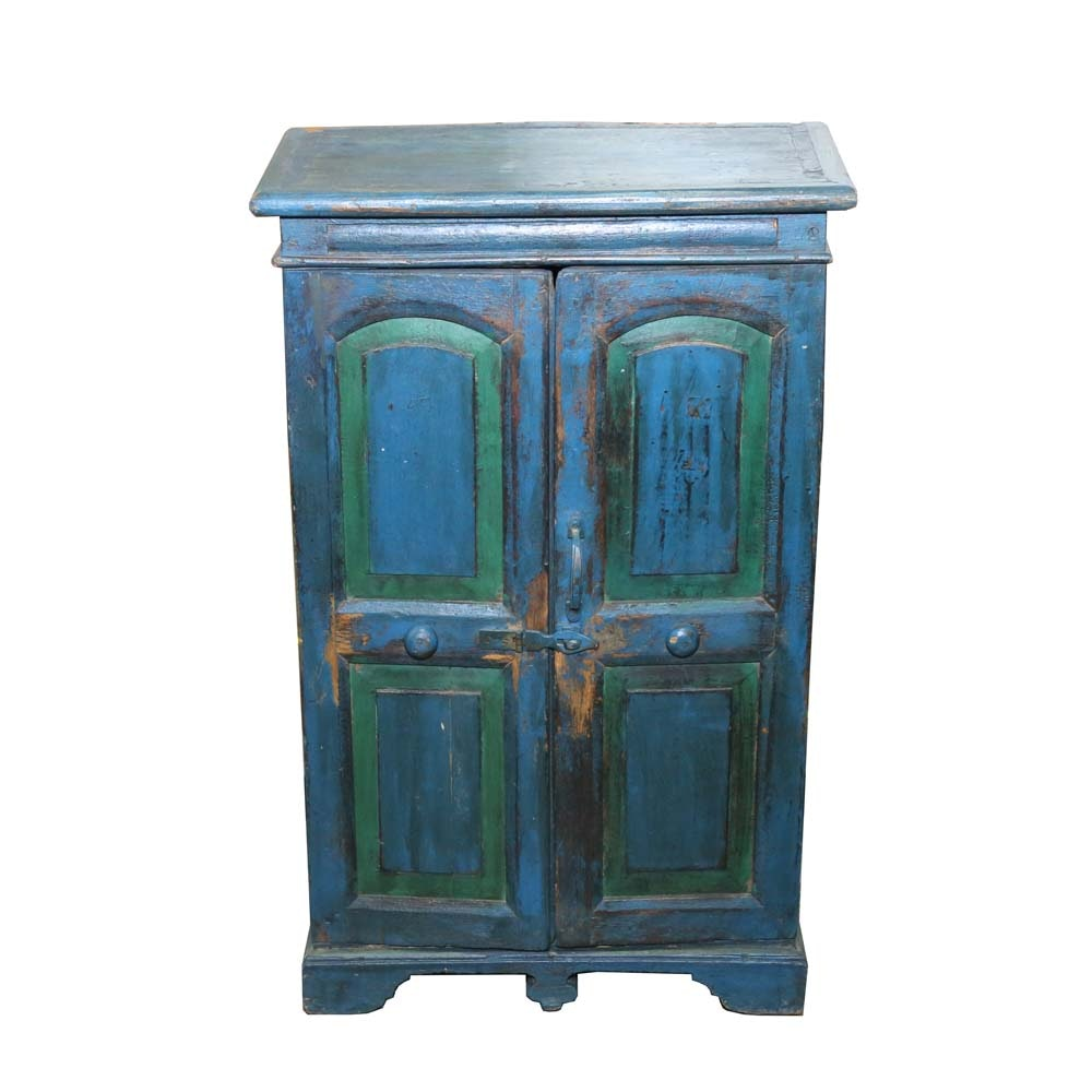 Federal Style Painted Wood Cabinet, 19th Century