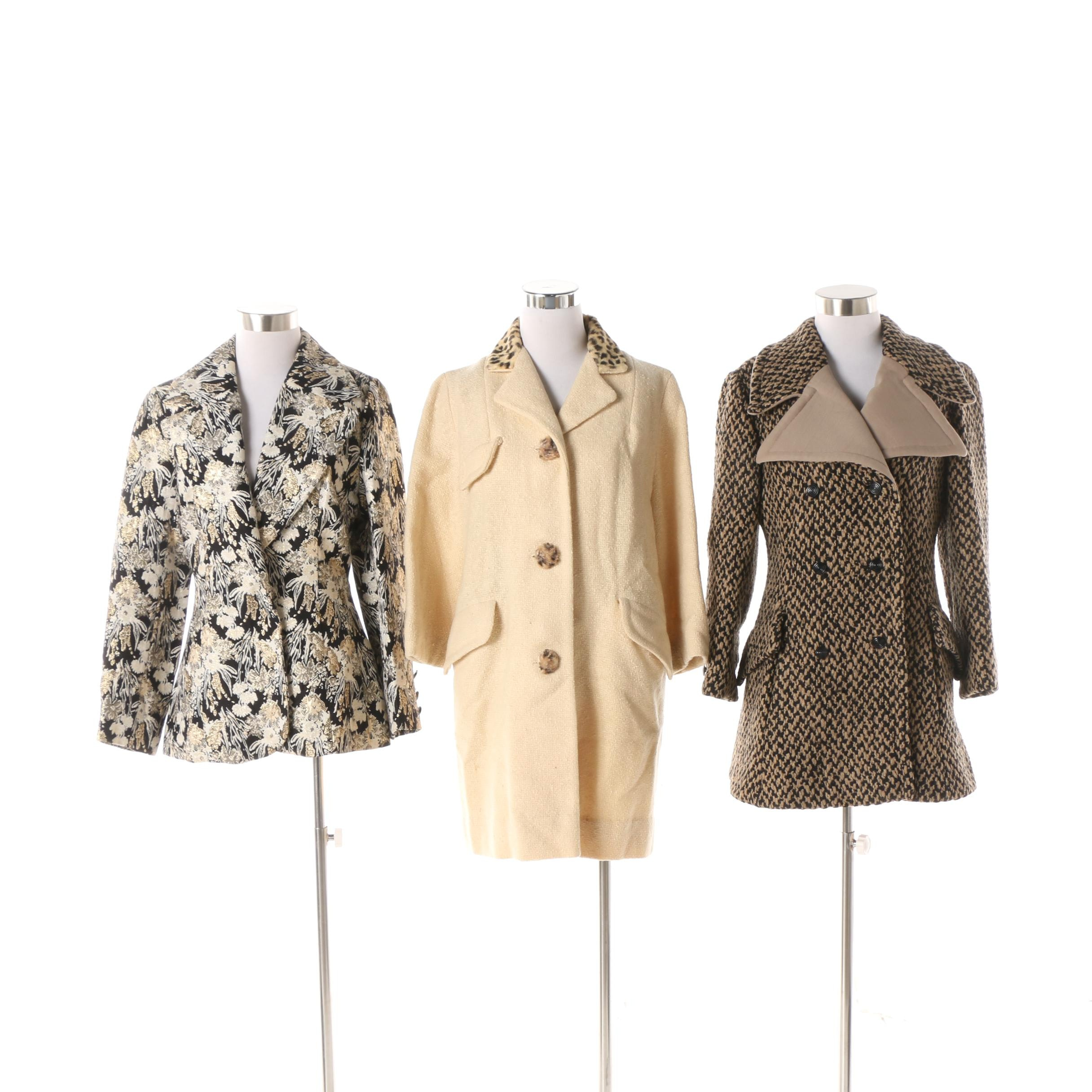 Women's Vintage Jackets including Lilli Ann