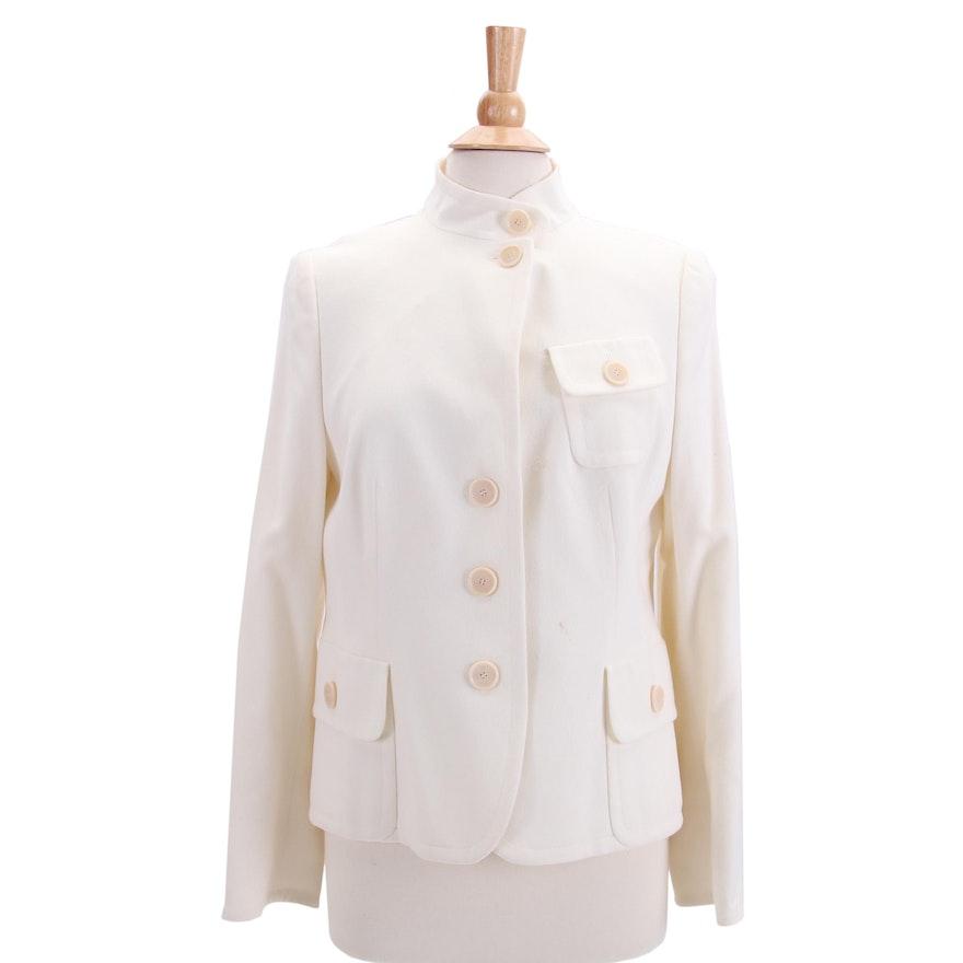 9170b4beff7f Women's Akris Punto Wool and Angora Blend Jacket : EBTH