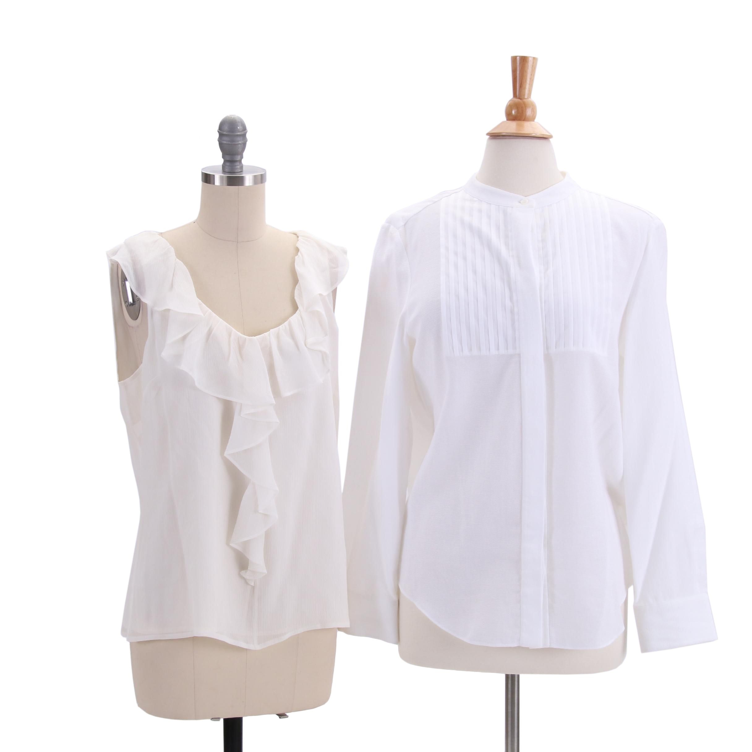 Women's Piazza Sempione and St. John Blouses