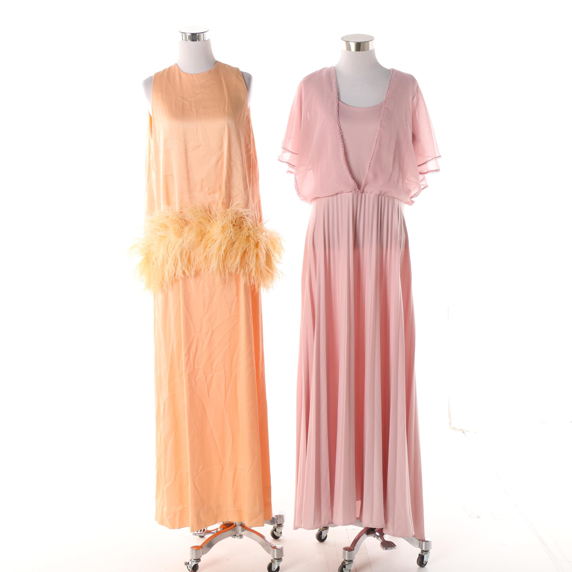 Women's Circa 1970s Vintage Evening Gowns including Acclaim by Seymour Levy