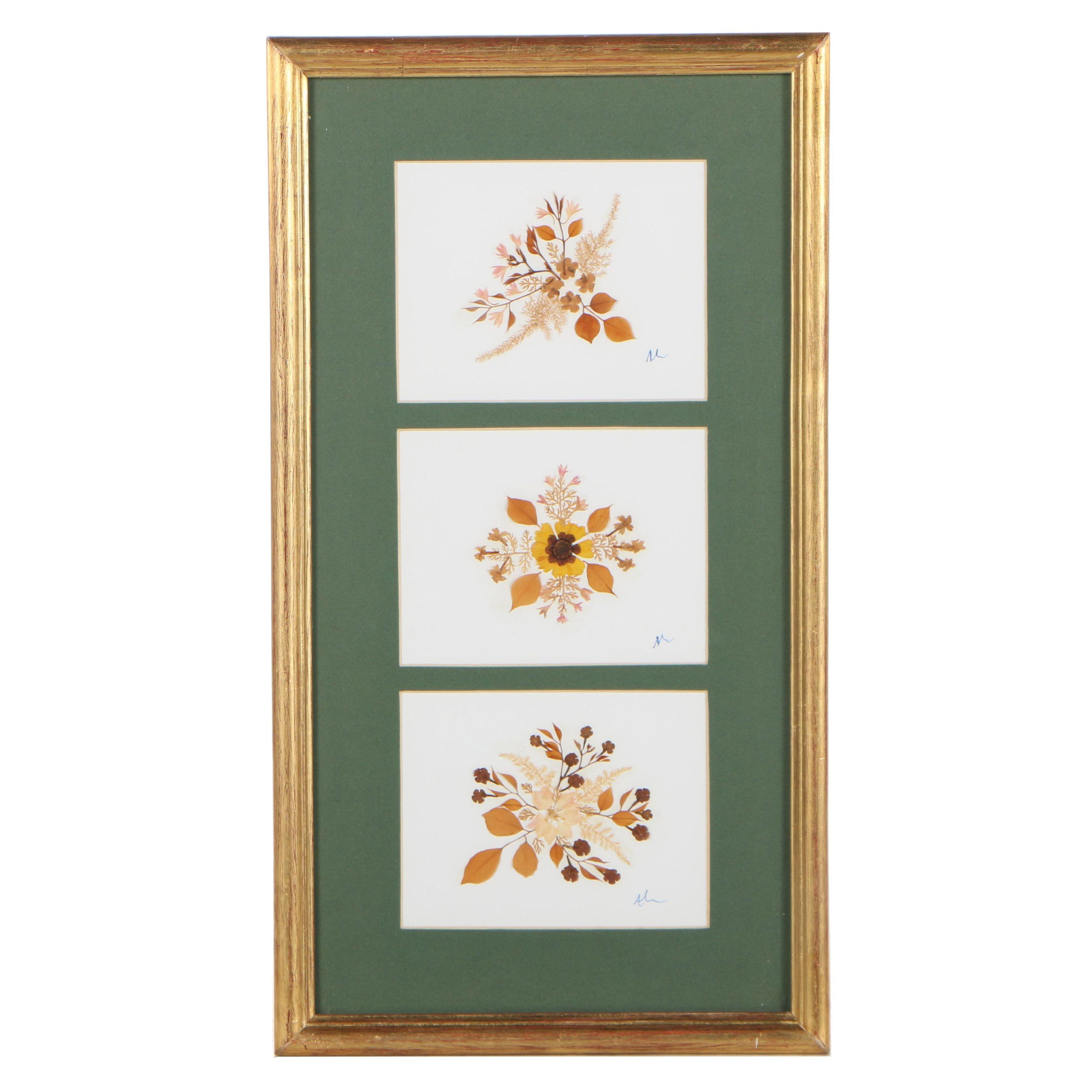 Pressed Flower Artwork