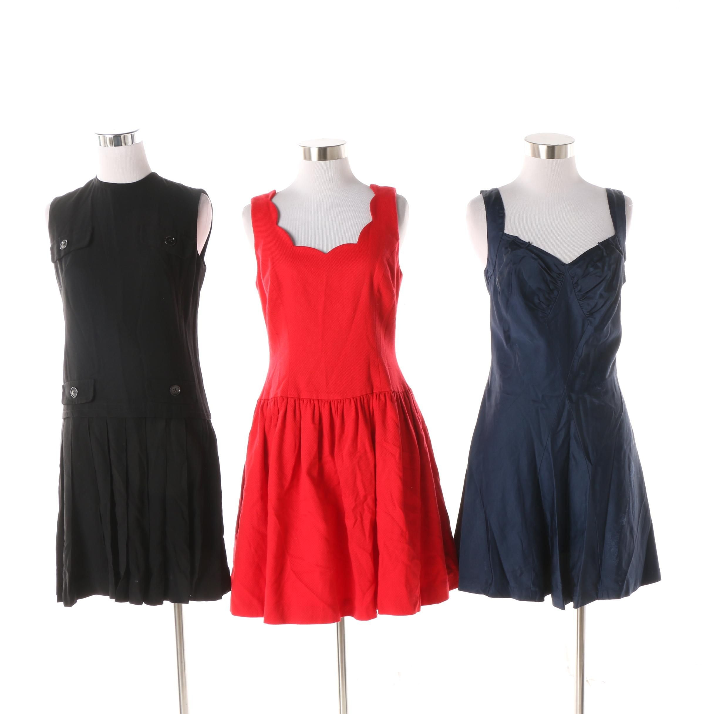 Women's Vintage Drop Waist Dress, Swimsuit and Fit and Flare Dress
