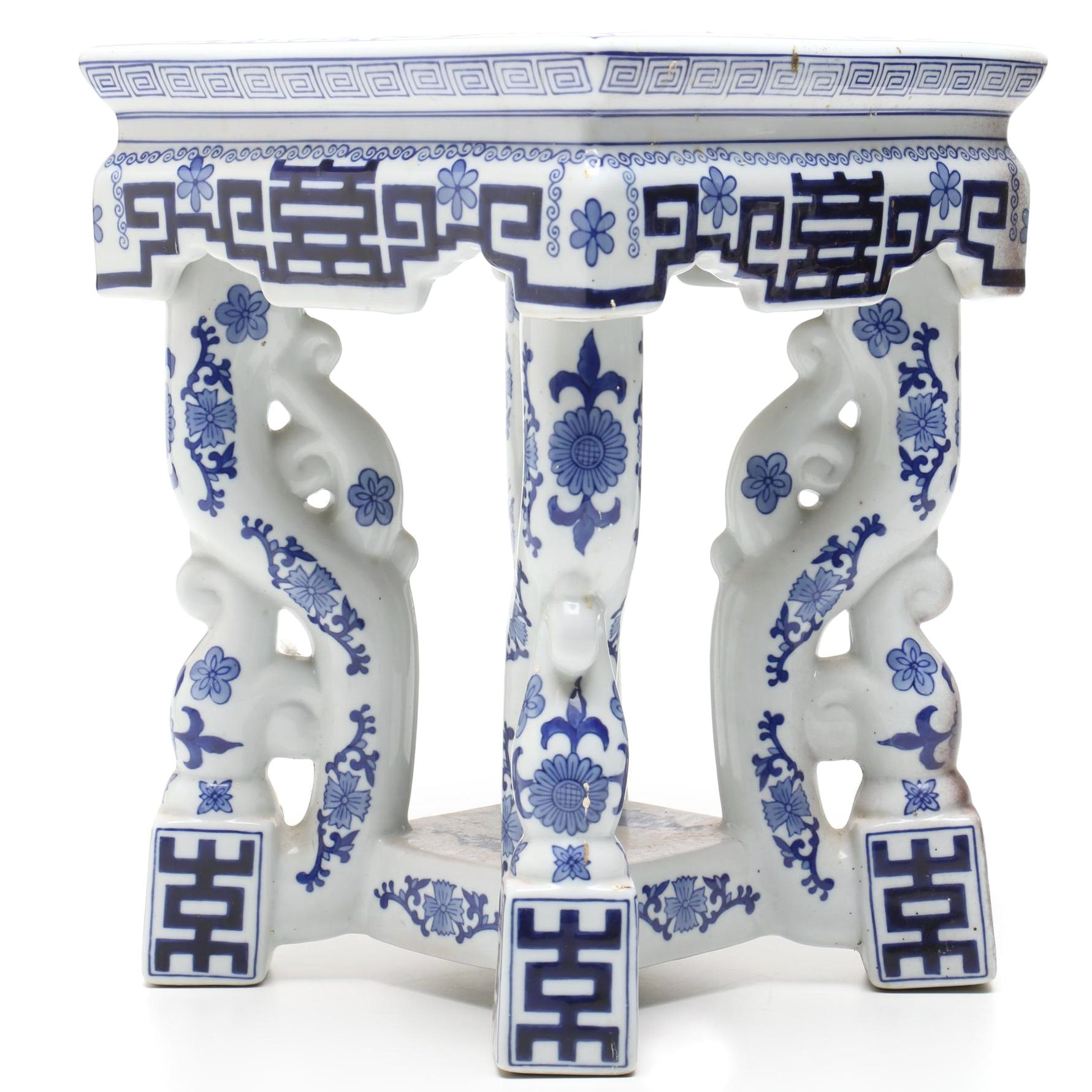 Chinese Porcelain Display Stand