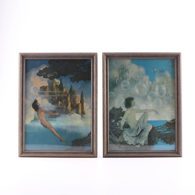Offset Lithographs after Maxfield Parrish