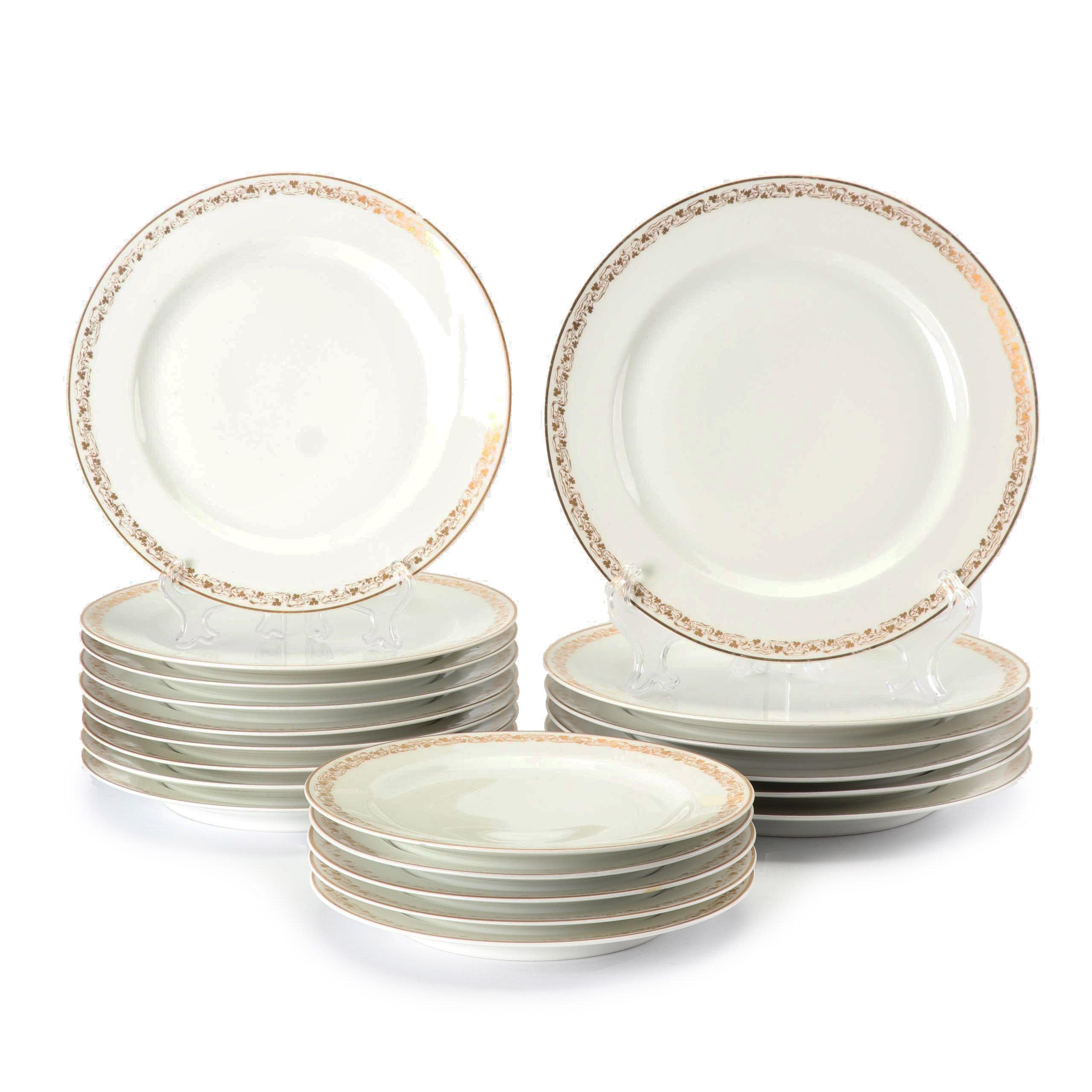 Vintage Haviland Limoges Porcelain Plates