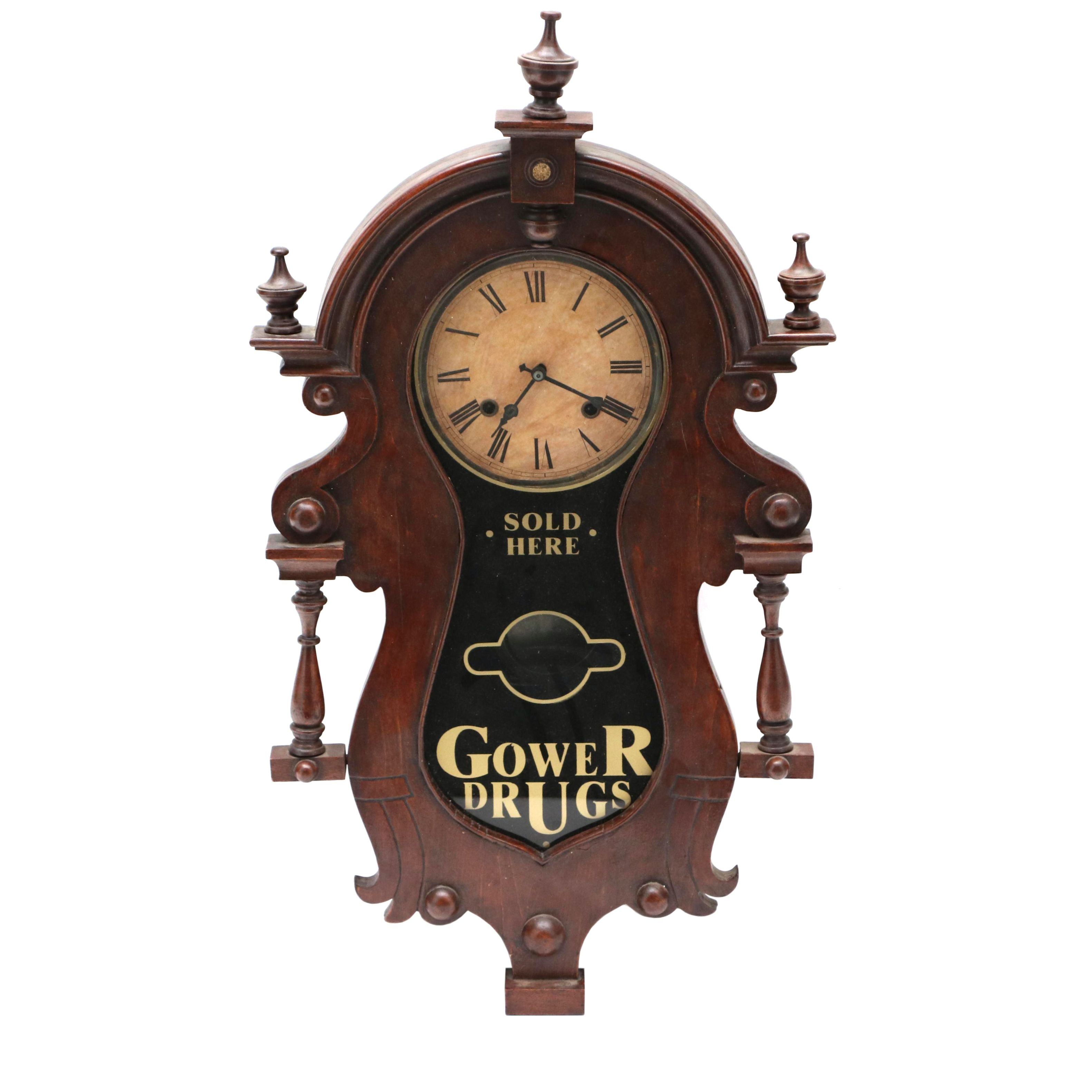 Early 20th Century Wall Clock