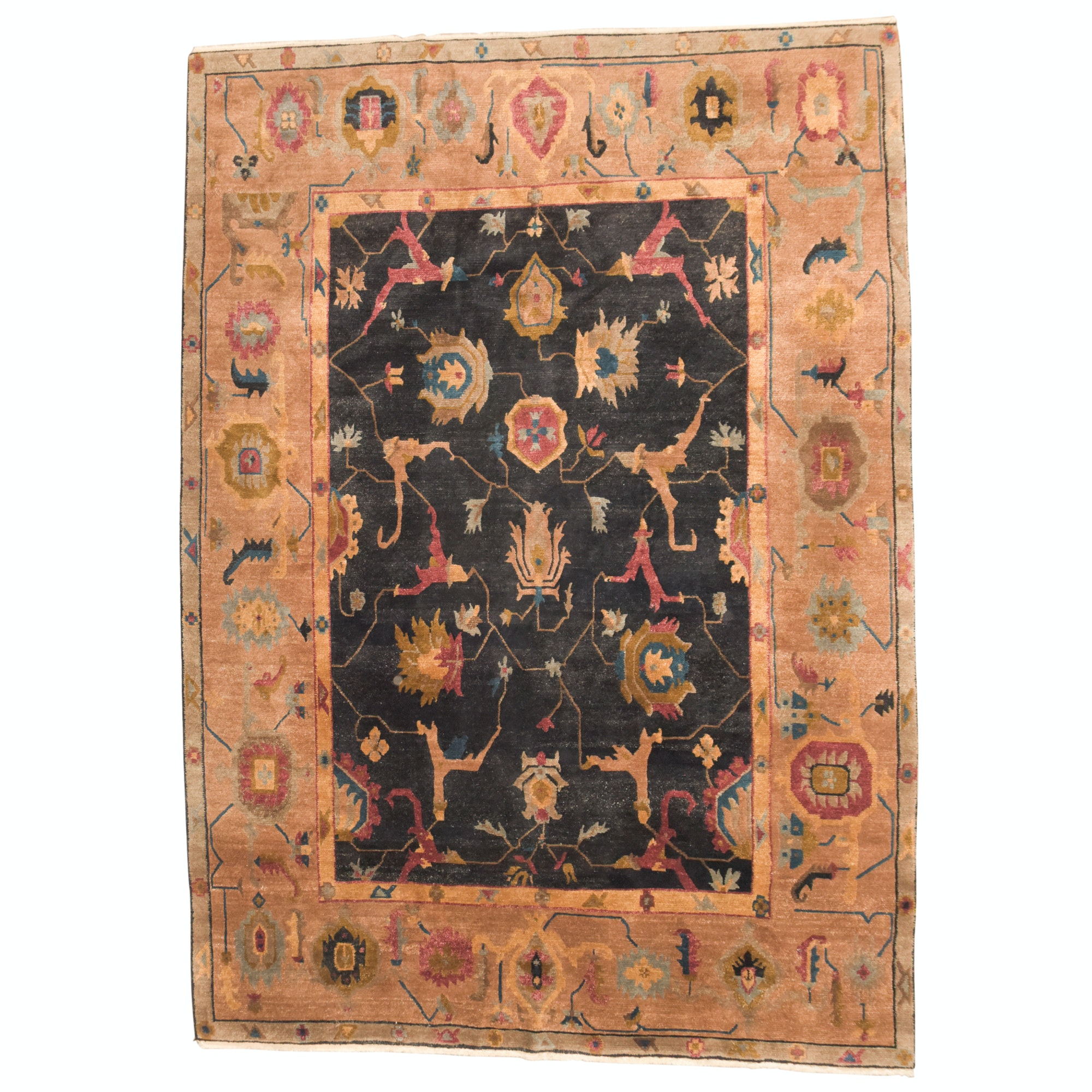 Hand-Knotted Tufenkian Wool Room Sized Rug