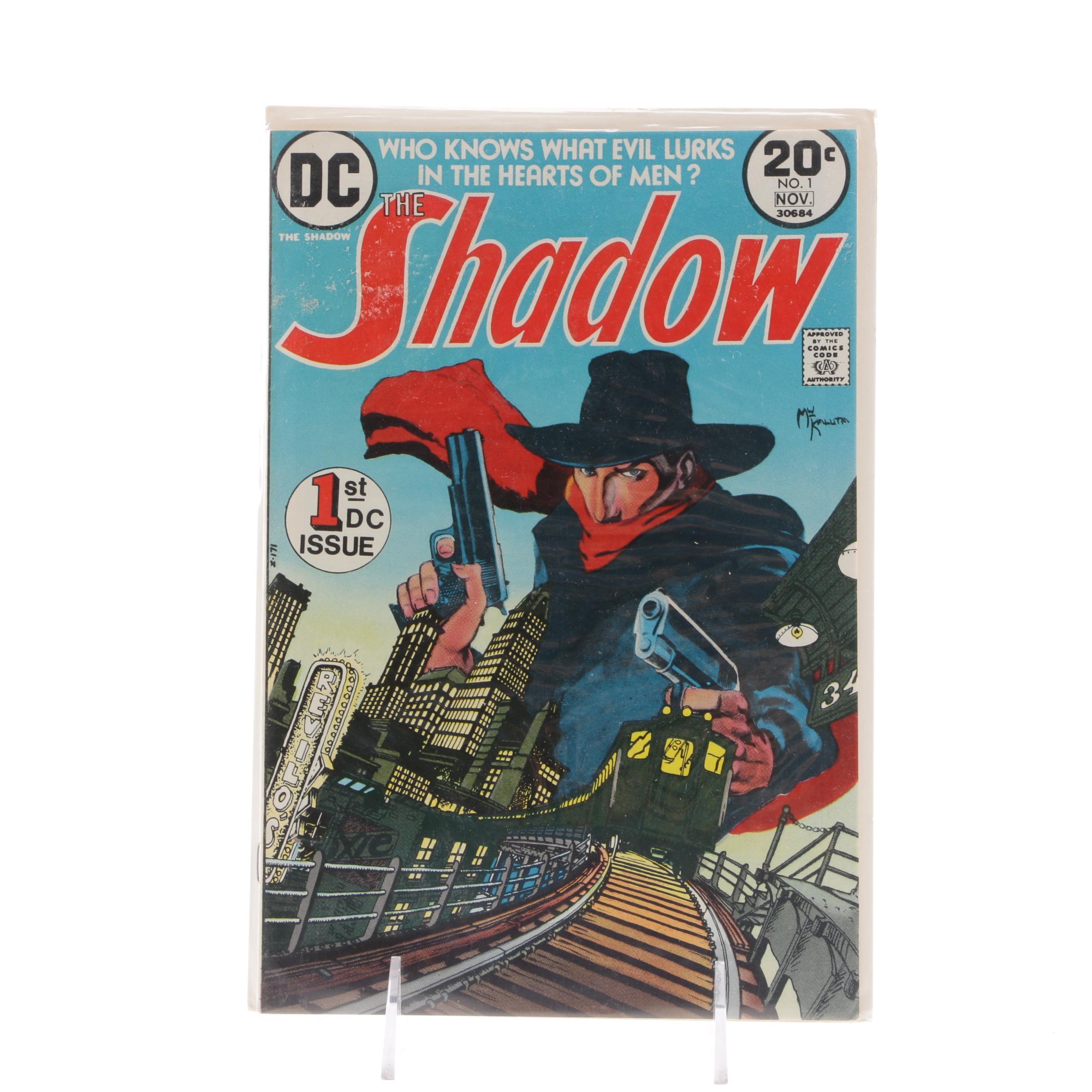 "1973 DC Comics ""The Shadow"" #1"
