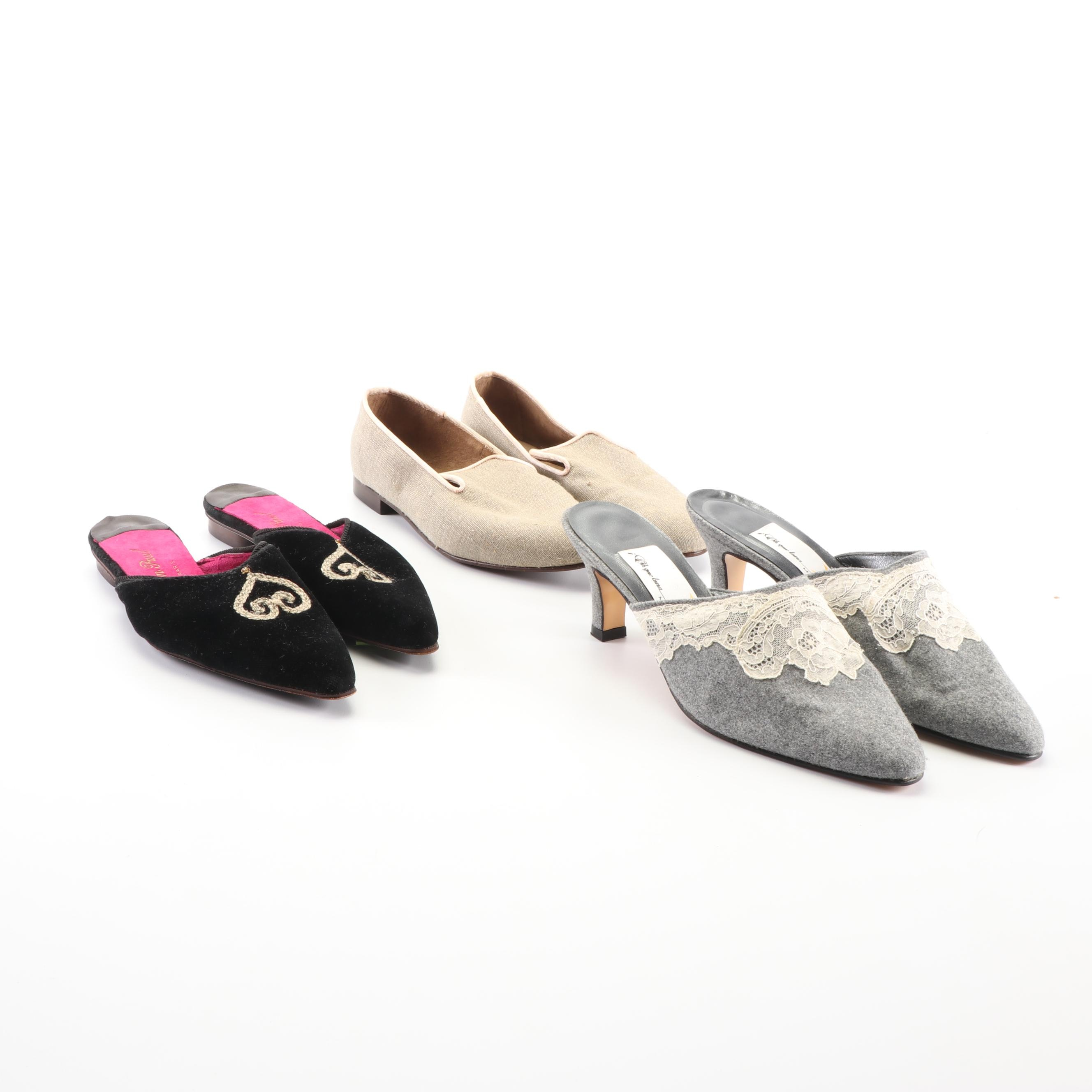 Evelyn Paul Paris and Oh Que Luna Madrid Mules and Loafers
