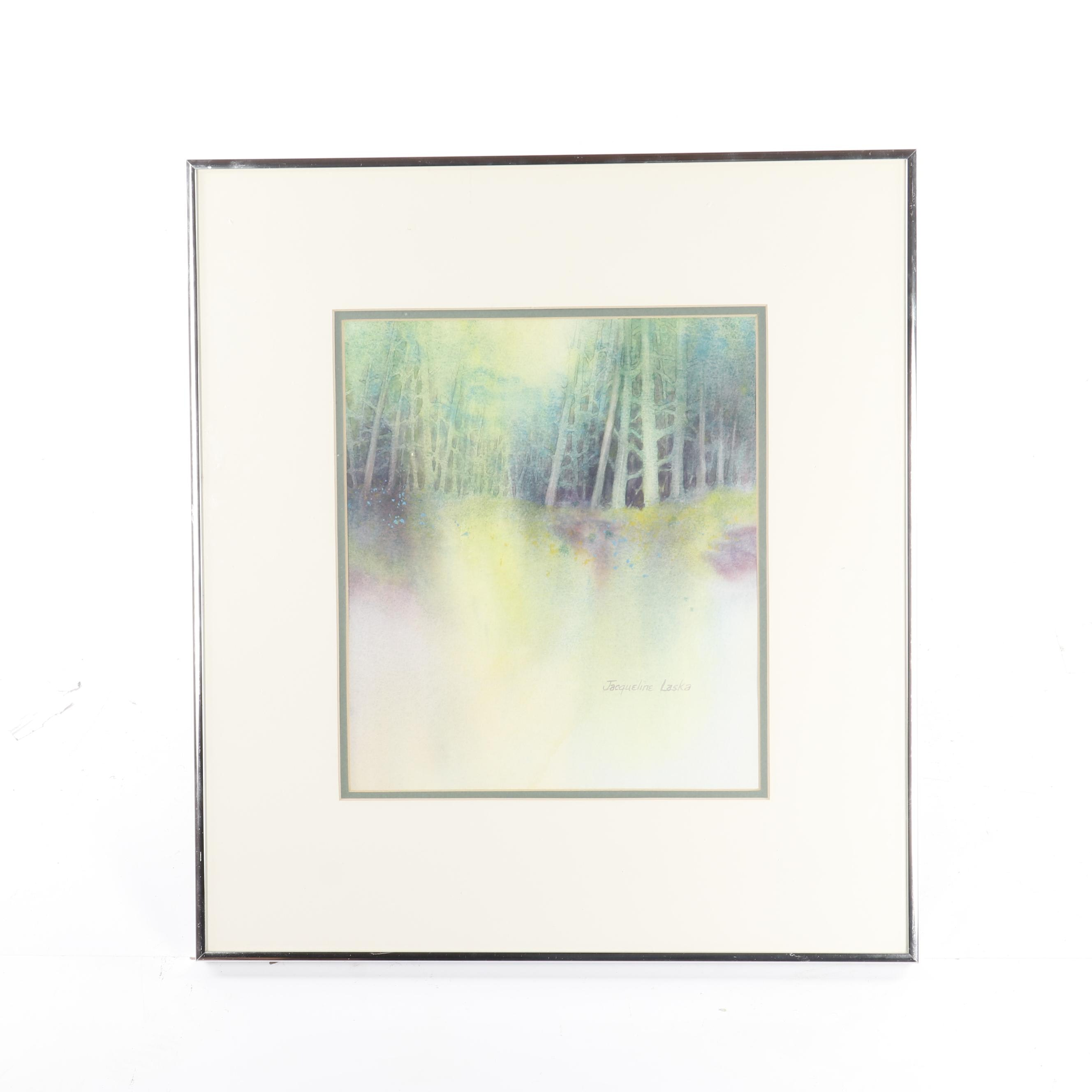 Jacqueline Laska Watercolor Landscape Painting