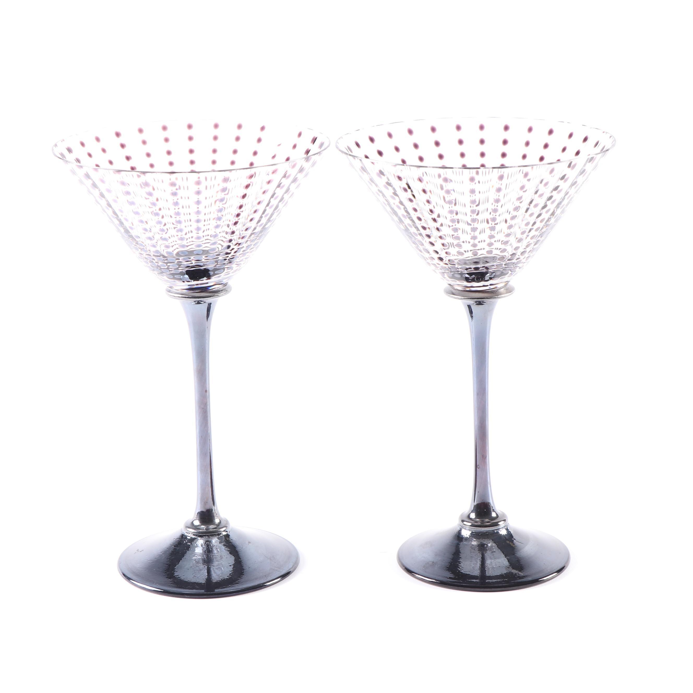 J. Stefanik Martini Glasses