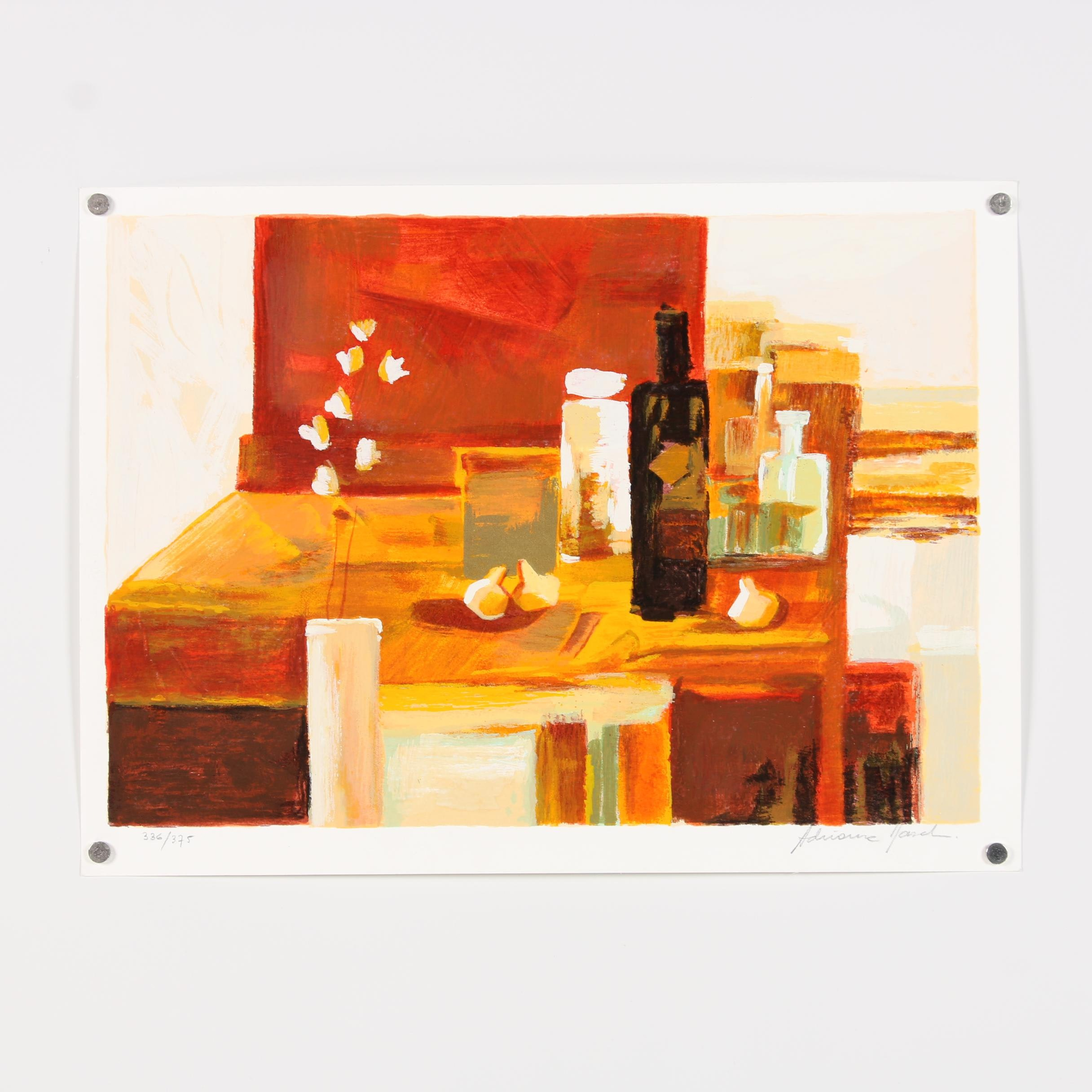 20th Century Limited Edition Still Life Serigraph